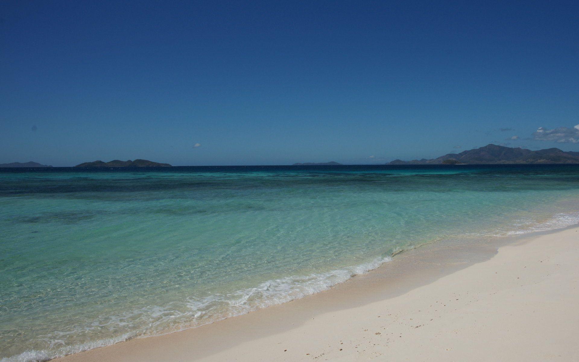Hình nền 1920x1200, bãi biển, đẹp, màn hình rộng, bãi biển, máy tính để bàn, Malcapuya, đảo