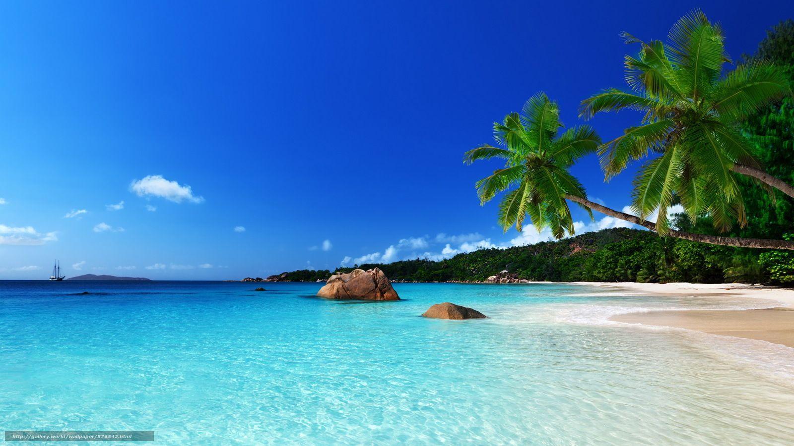 1600x900 Tải xuống hình nền đảo, biển, bờ biển, Vùng nhiệt đới Hình nền máy tính để bàn miễn phí ở độ phân giải 5156x2900