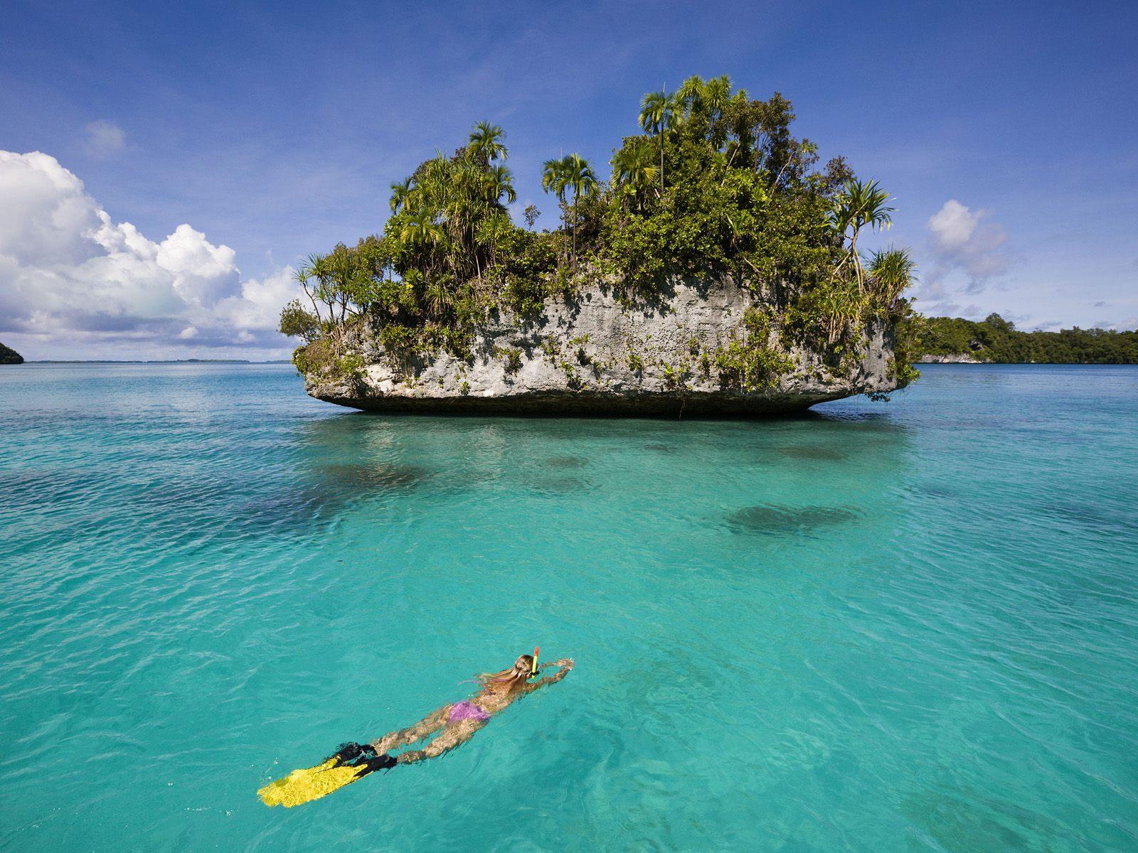 Hình nền máy tính để bàn 1600x1200 Tropical Island Beaches (1600x1200 px)