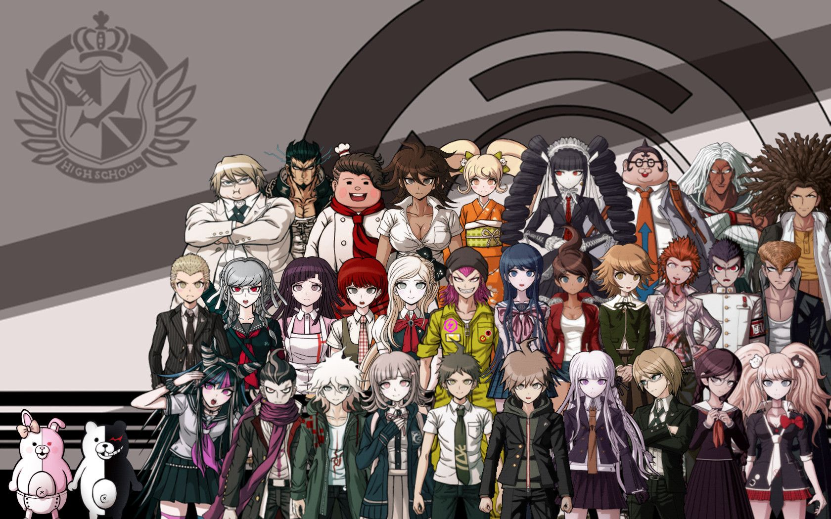Dangan Ronpa Wallpapers - Top Free Dangan Ronpa Backgrounds