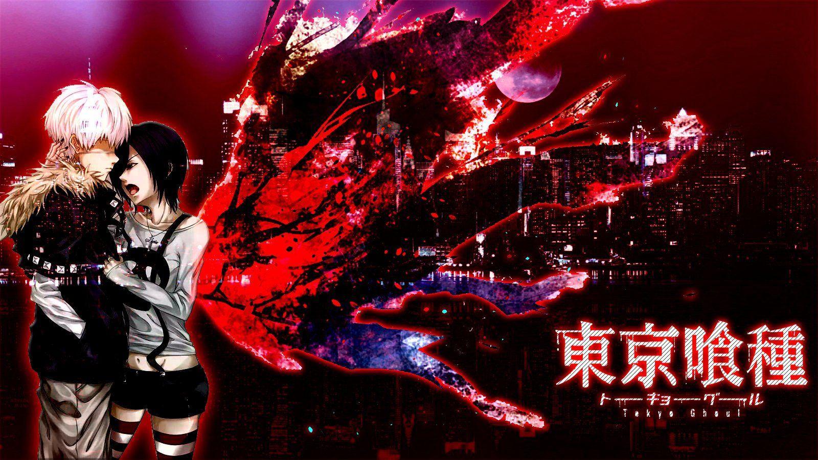 Kaneki And Touka Tokyo Ghoul Wallpapers Top Free Kaneki