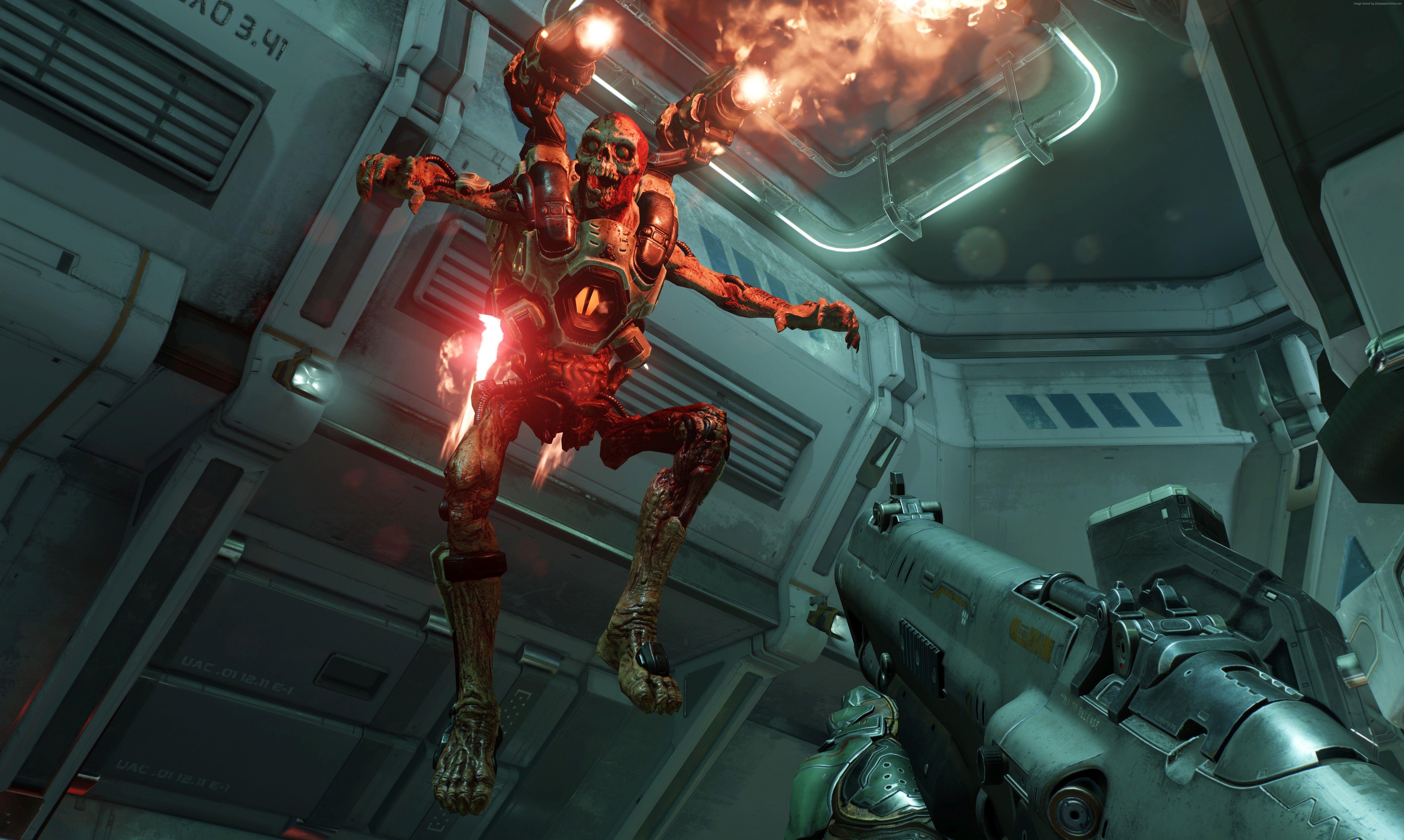 6720x4021 خلفية Doom 4 ، Action ، Shooter ، Horror ، Sci Fi ، Best Games ، Games