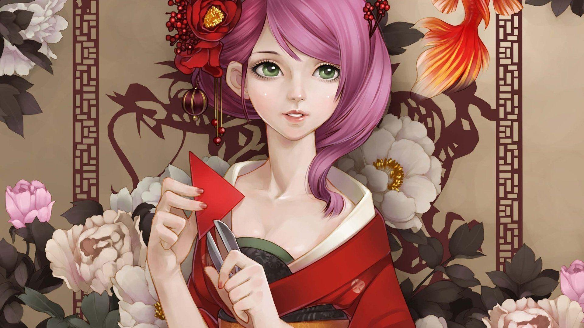 31 best free japanese geisha girls wallpapers - wallpaperaccess
