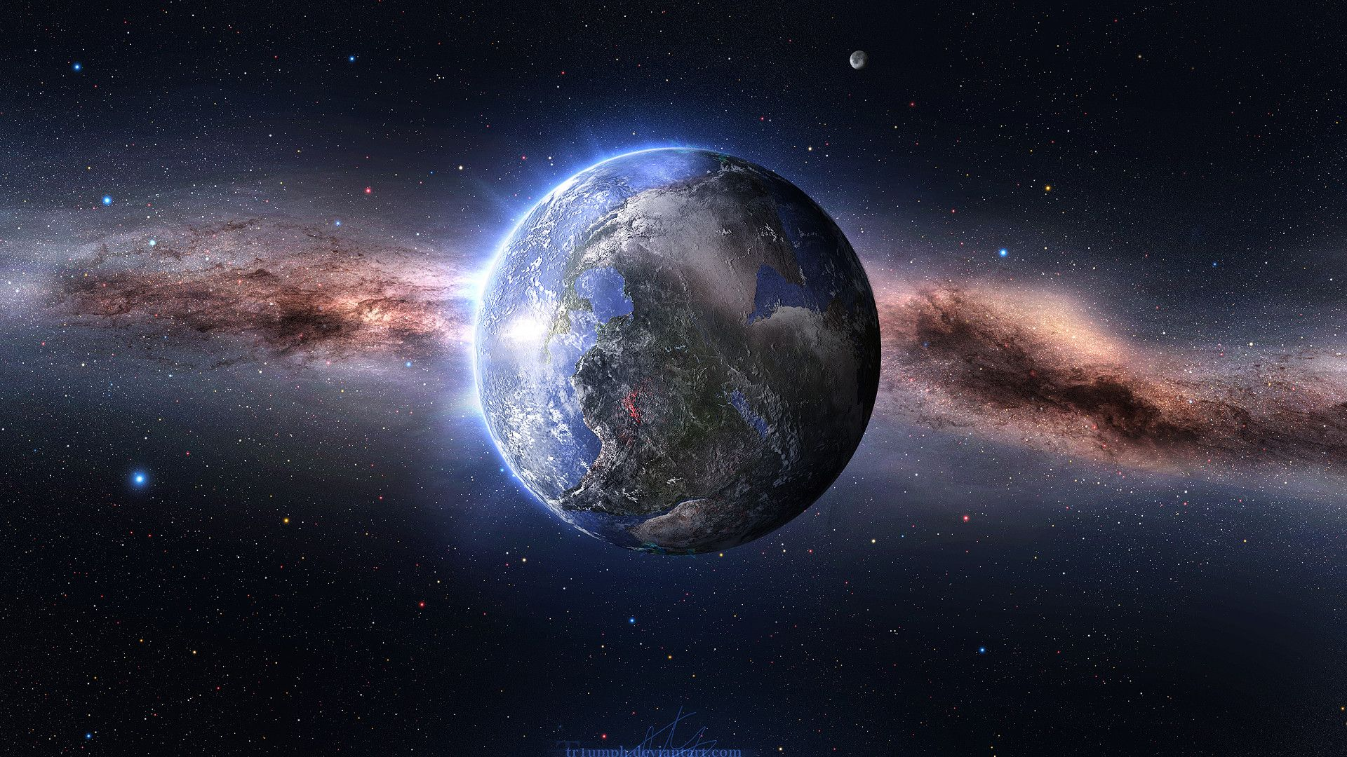 66 Best Free Space Desktop Wallpapers
