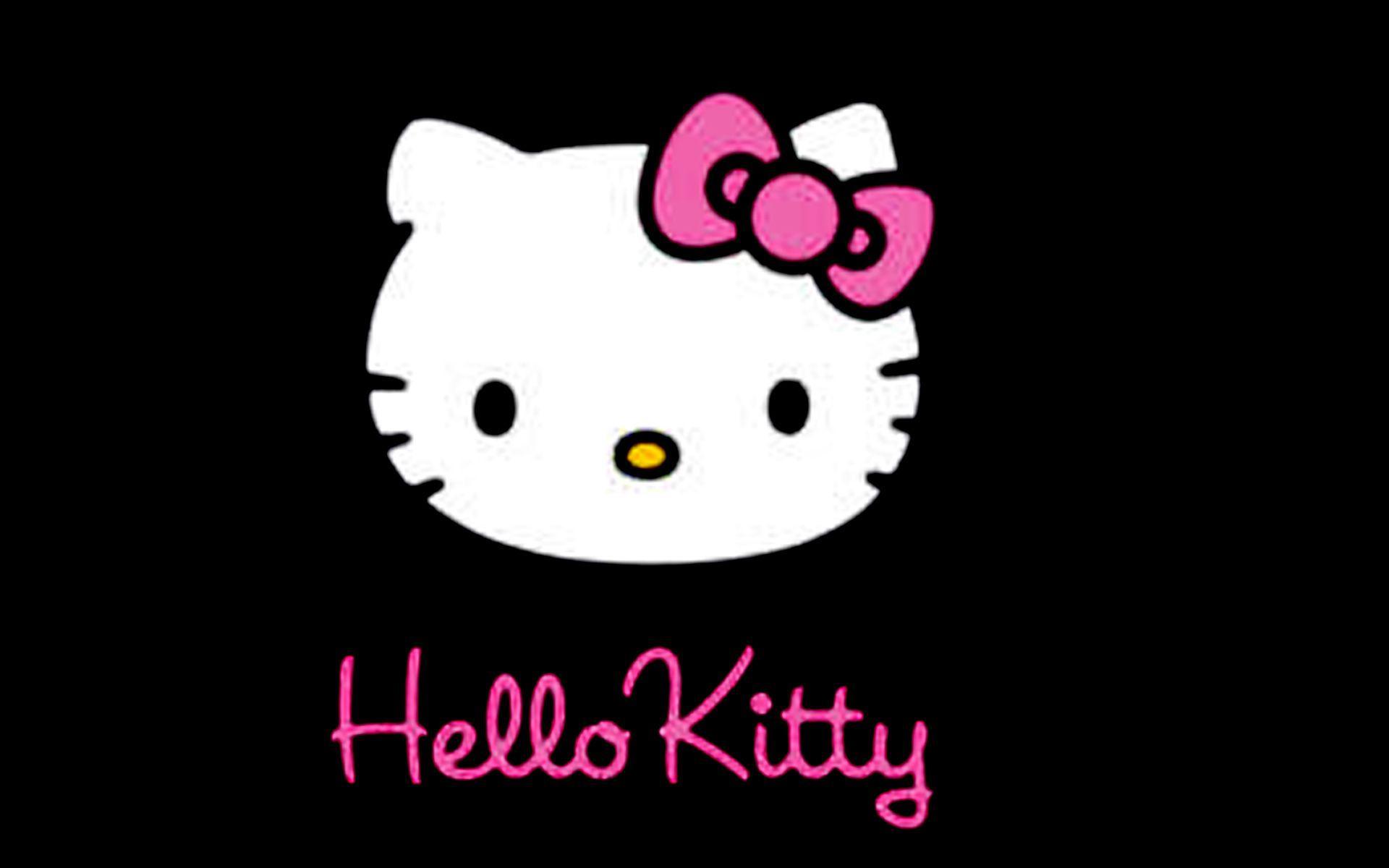 Black Hello Kitty Wallpapers Top Free Black Hello Kitty