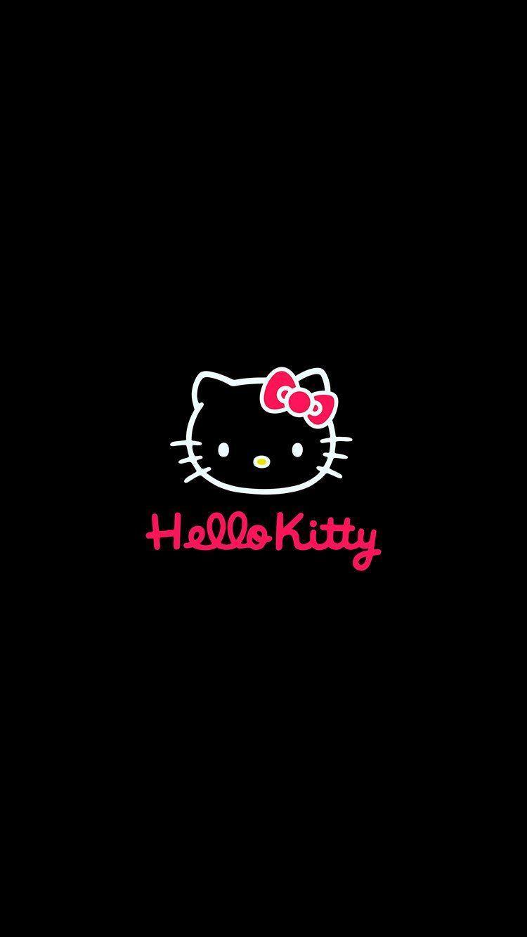 Unduh 6600 Koleksi Wallpaper Hitam Hello Kitty HD Paling Keren