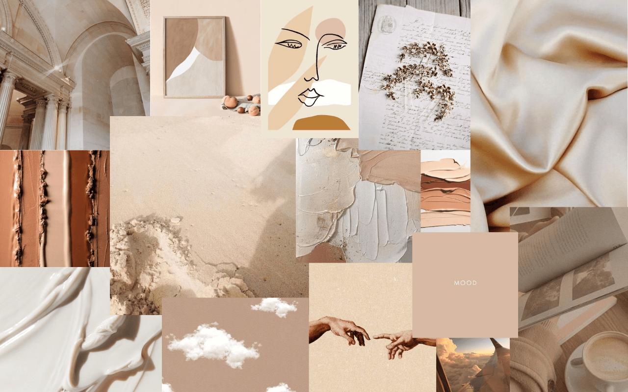 Beige Aesthetic Laptop Wallpapers Top Free Beige Aesthetic Laptop Backgrounds Wallpaperaccess