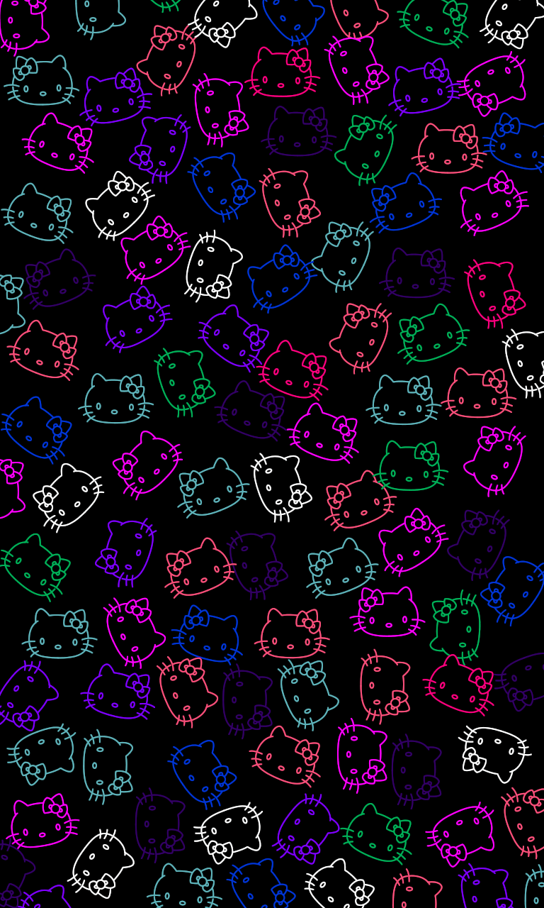 Black Hello Kitty Wallpapers - Top Free Black Hello Kitty ...