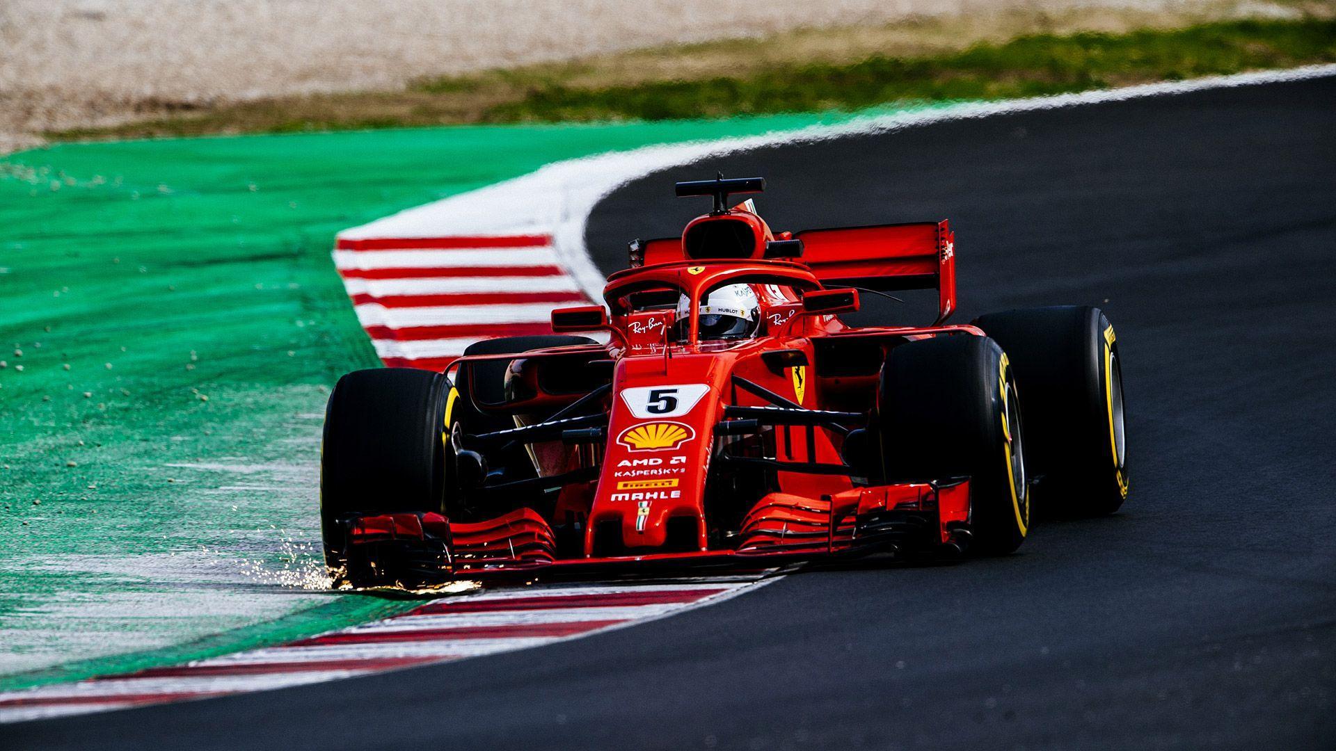 Ferrari F1 2018 Wallpapers Top Free Ferrari F1 2018 Backgrounds Wallpaperaccess