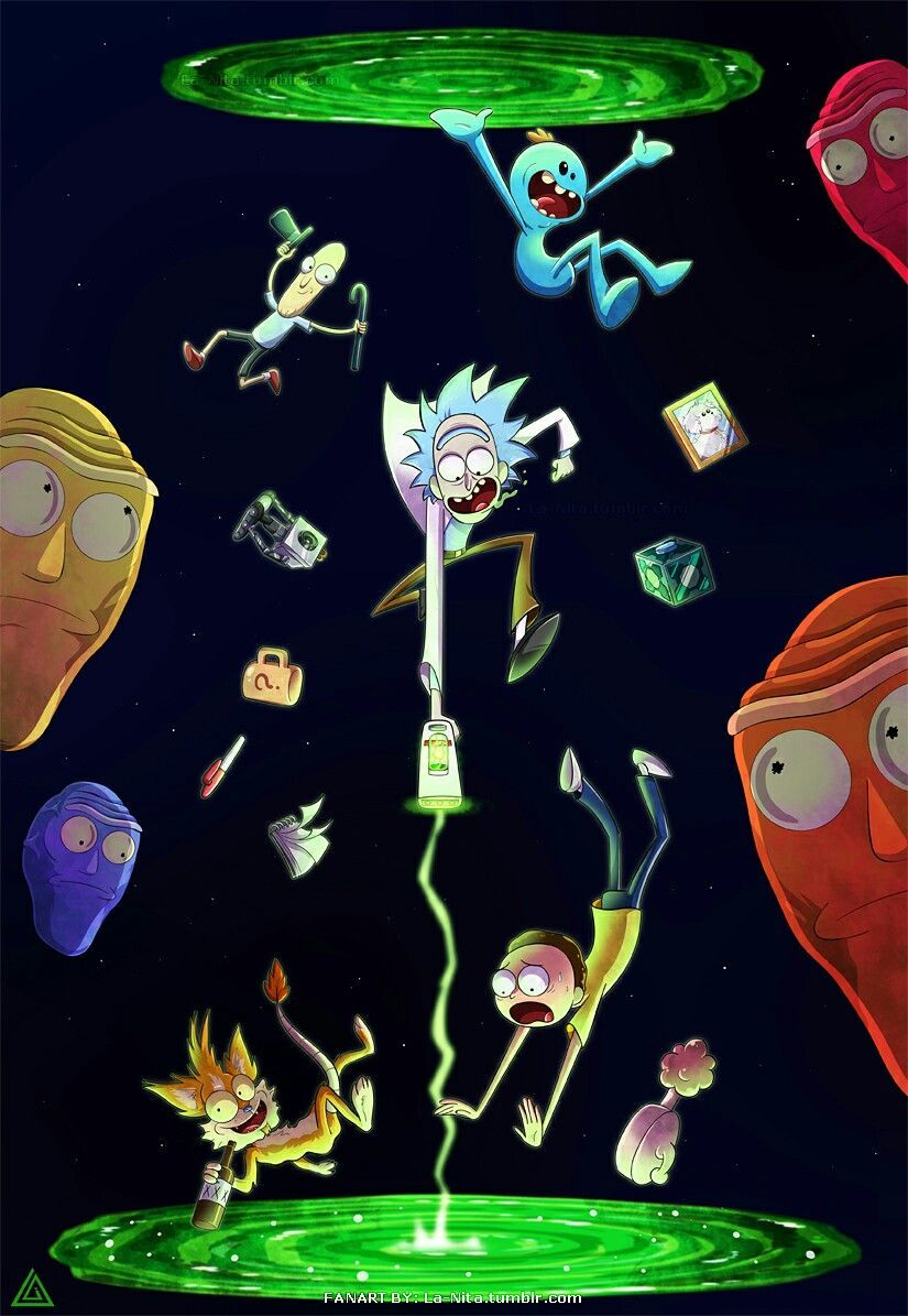 Rick And Morty Wallpapers Top Free Rick And Morty Backgrounds