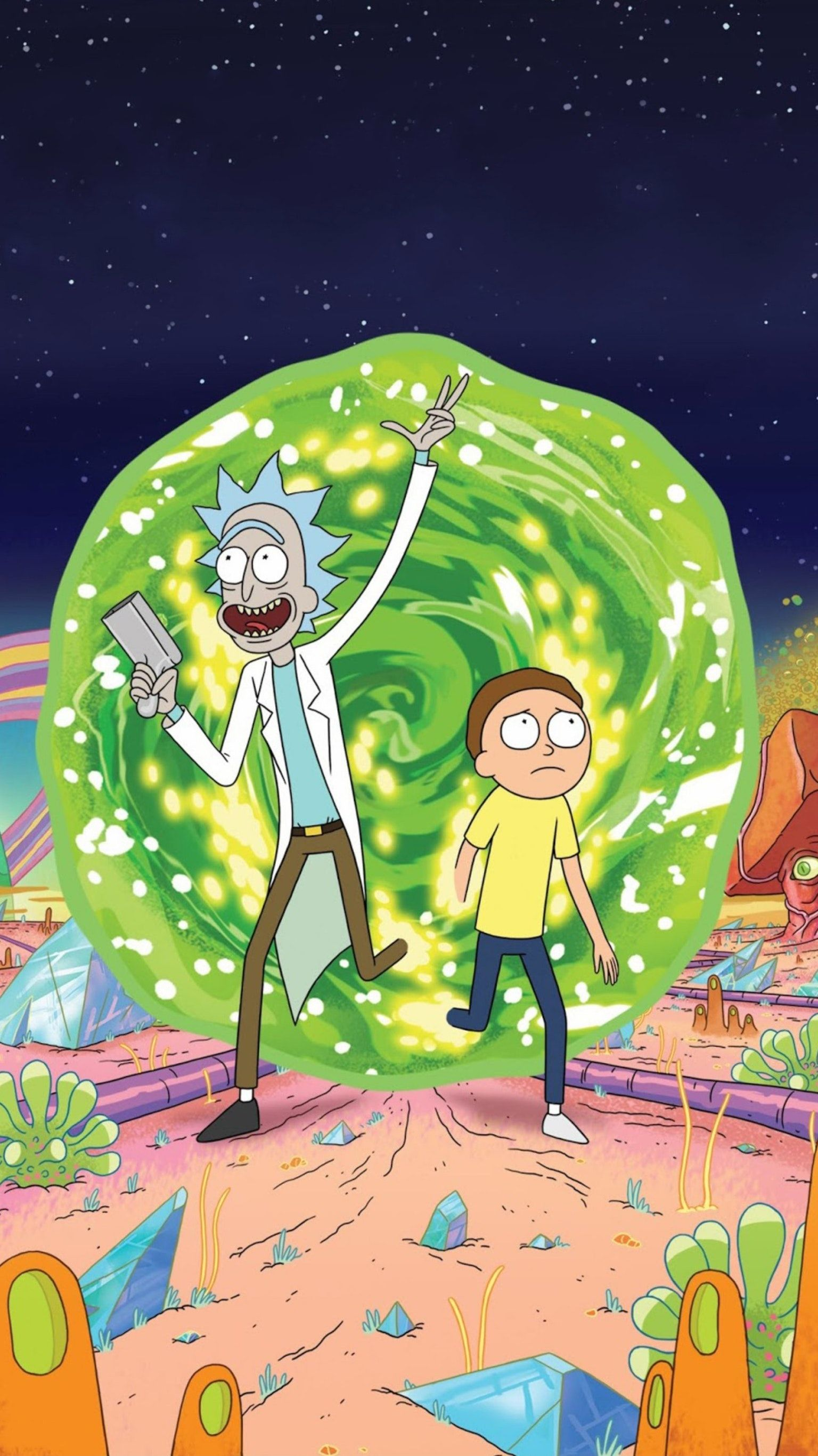 Portrait Rick And Morty Wallpapers Top Free Portrait Rick And