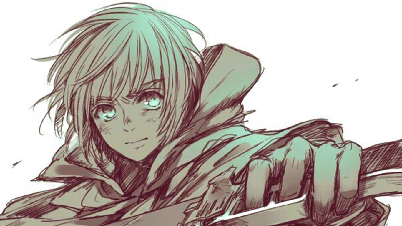 Armin Arlert Wallpapers Top Free Armin Arlert Backgrounds Wallpaperaccess