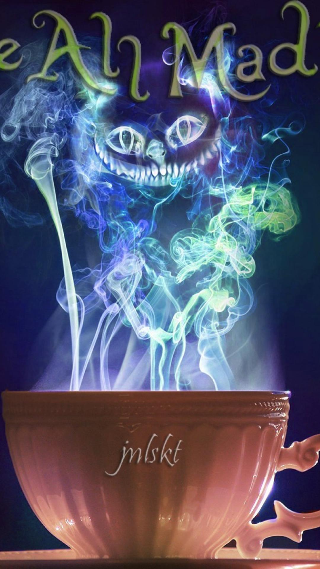 Cheshire cat iphone 6 plus wallpapers top free cheshire - Alice in wonderland iphone wallpaper ...