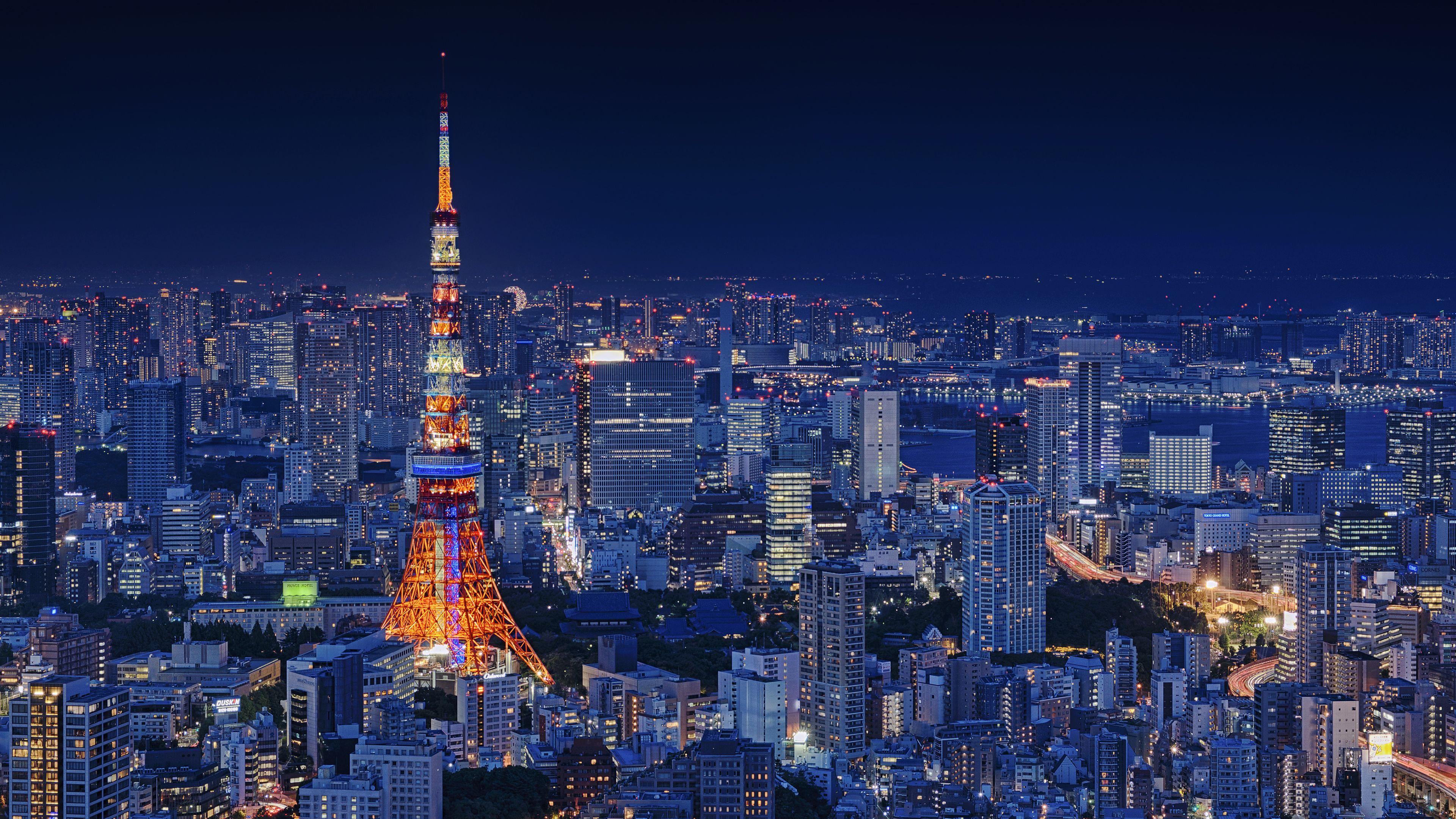 Tokyo 8k Wallpapers Top Free Tokyo 8k Backgrounds Wallpaperaccess