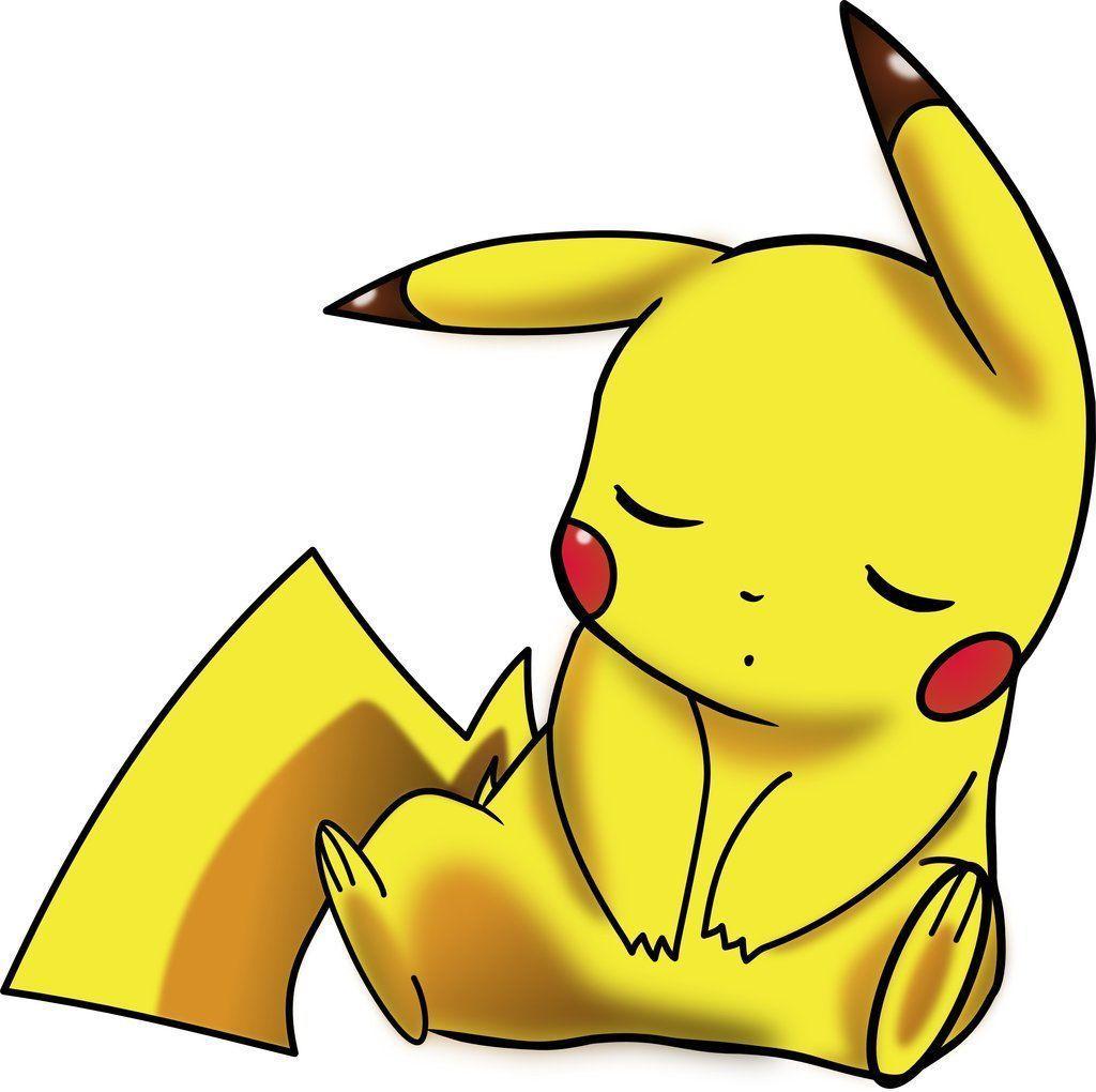 1024x1020 hình nền pikachu đang ngủ - Hoạt hình và Manga