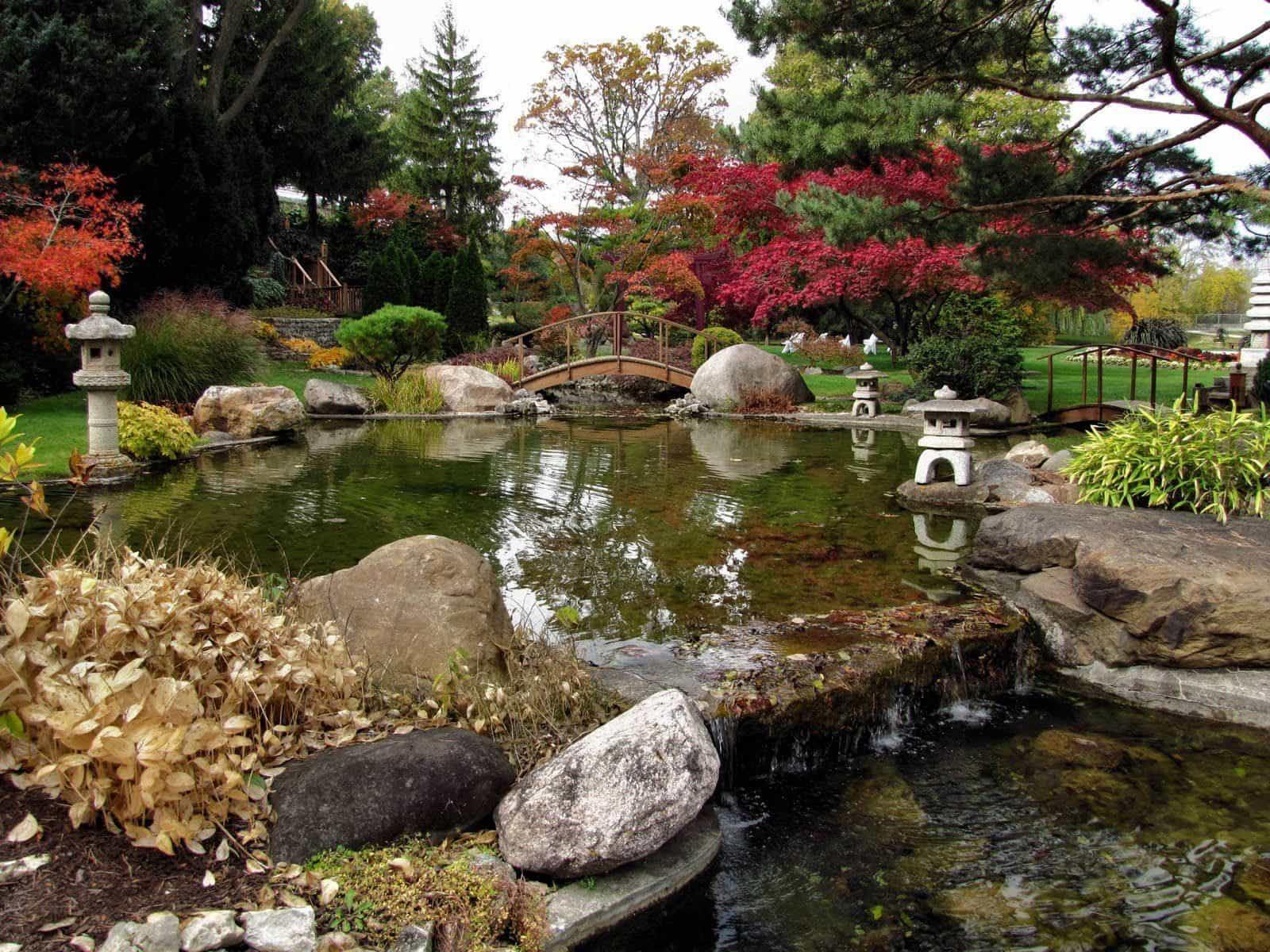 Japanese Water Garden Wallpapers Top Free Japanese Water Garden