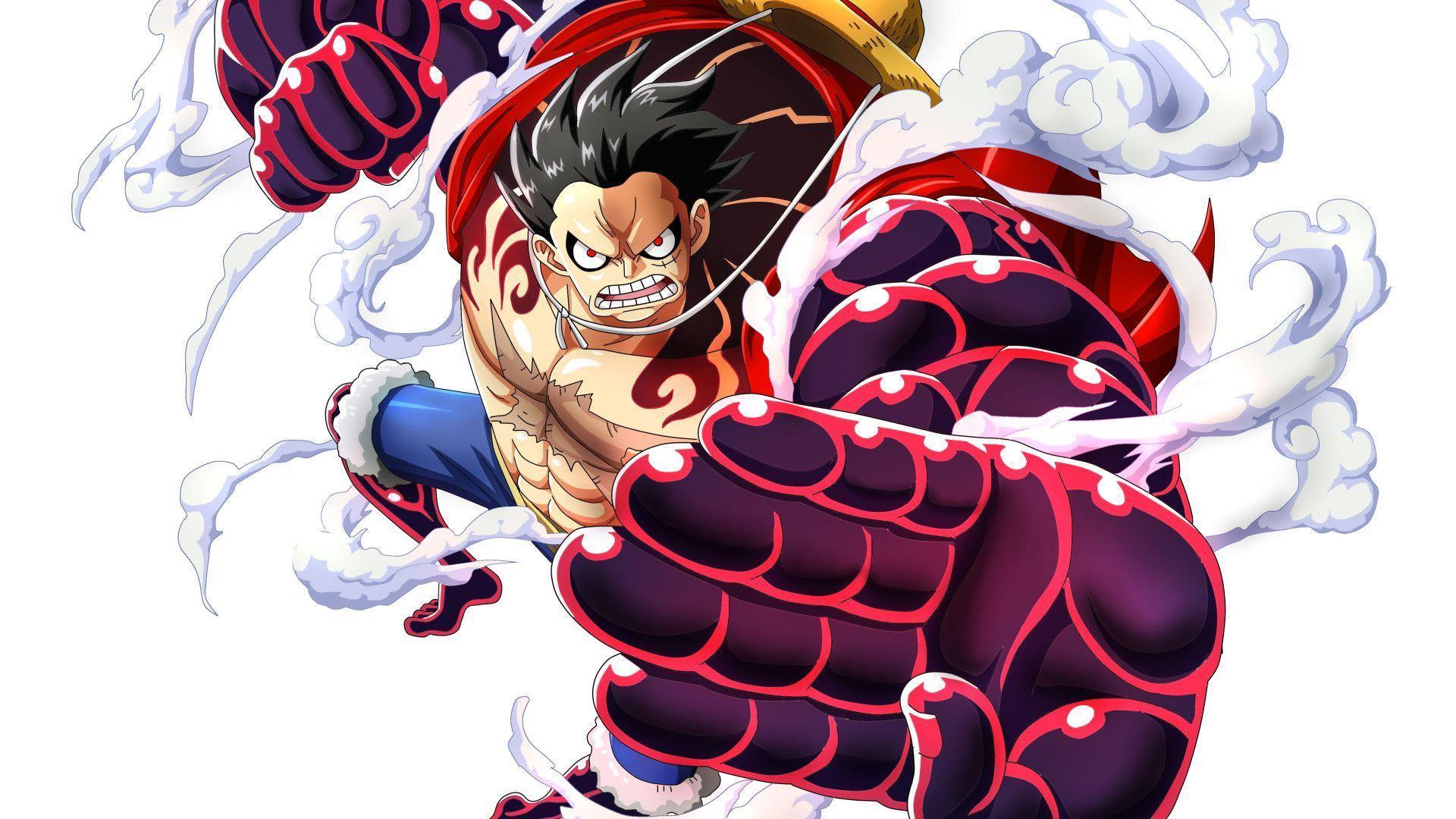 Monkey D Luffy Gear 4 Wallpapers Top Free Monkey D Luffy Gear 4 Backgrounds Wallpaperaccess