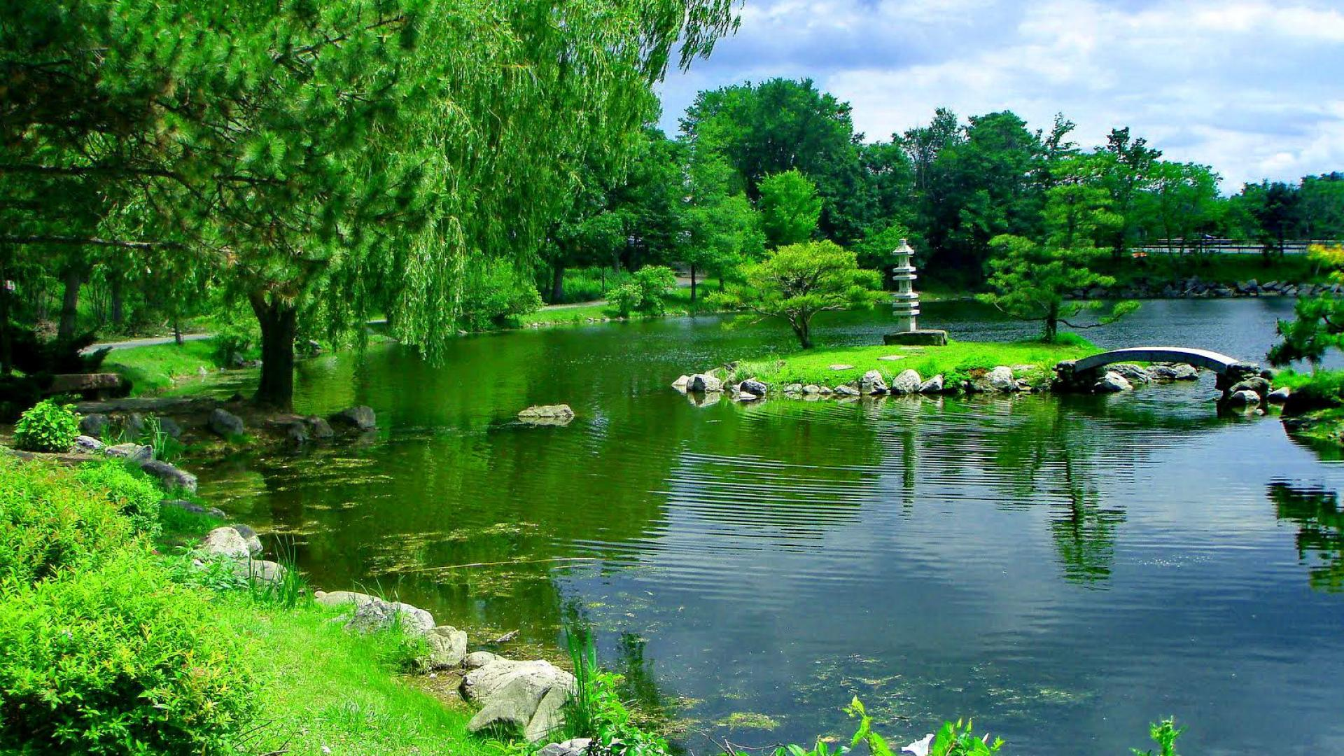 Japanese Garden Wallpapers: Japanese Water Garden Wallpapers