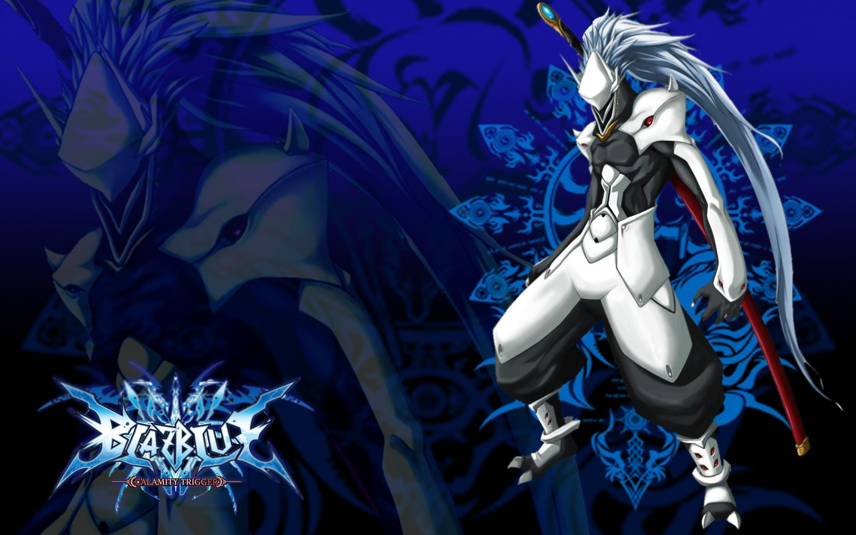 Tải xuống miễn phí hình nền Anime xanh 1680x1050.  hình nền