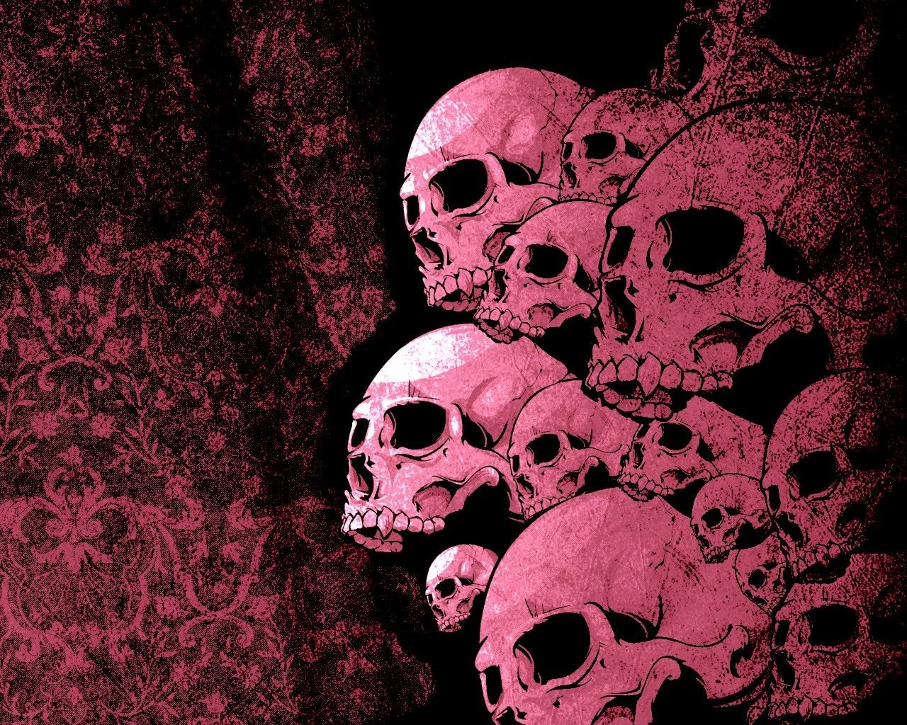 Pink Skull Wallpapers Top Free Pink Skull Backgrounds