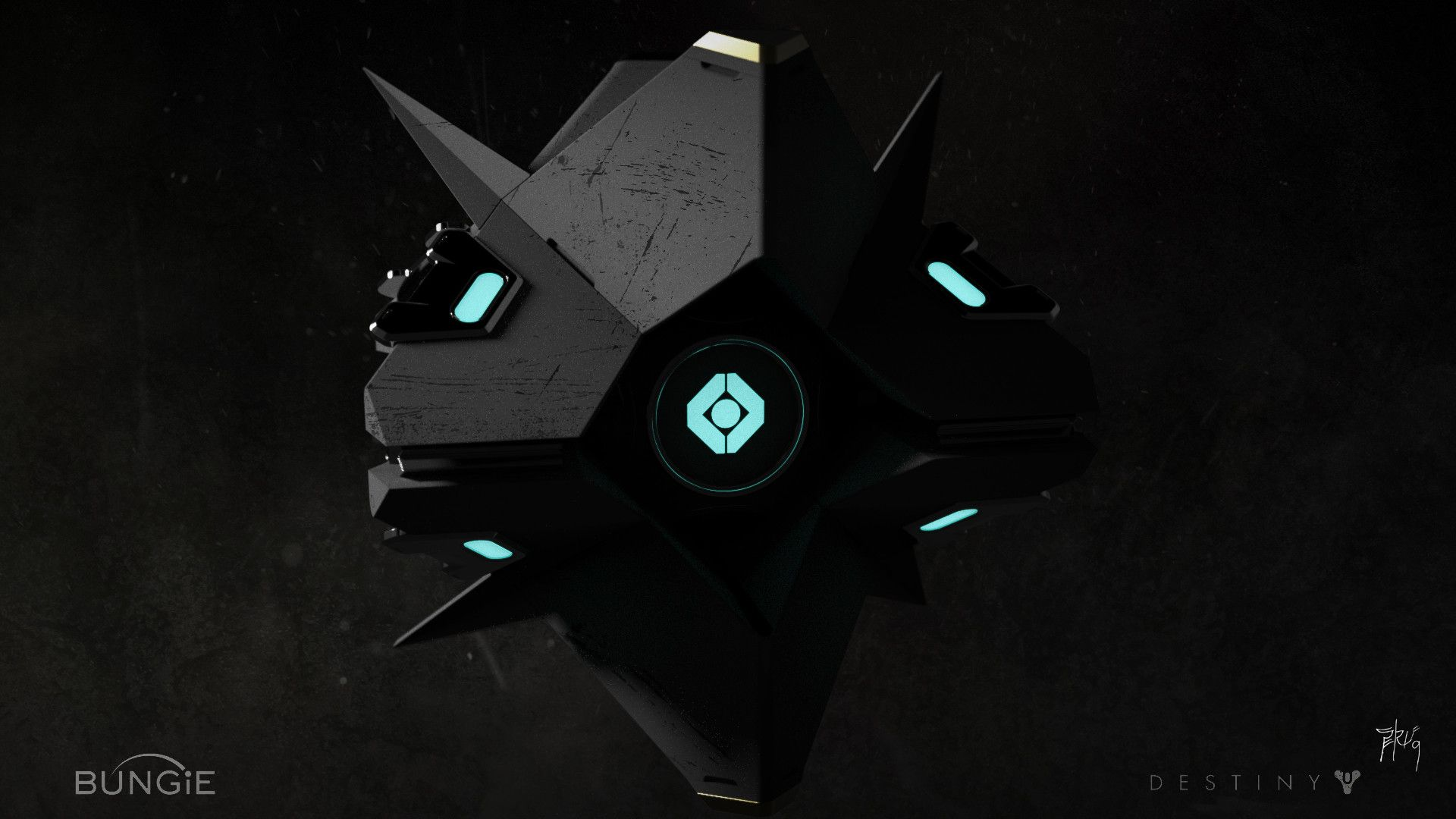 40 Best Free Destiny Ghost Wallpapers Wallpaperaccess