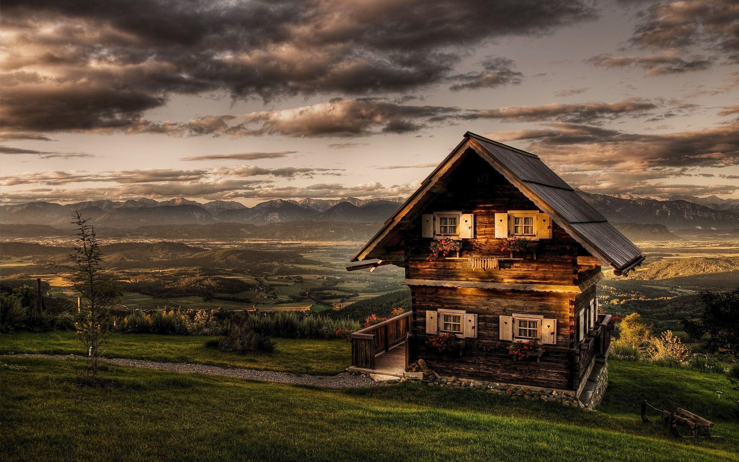 Log Cabin Landscape Wallpapers - Top Free Log Cabin ...