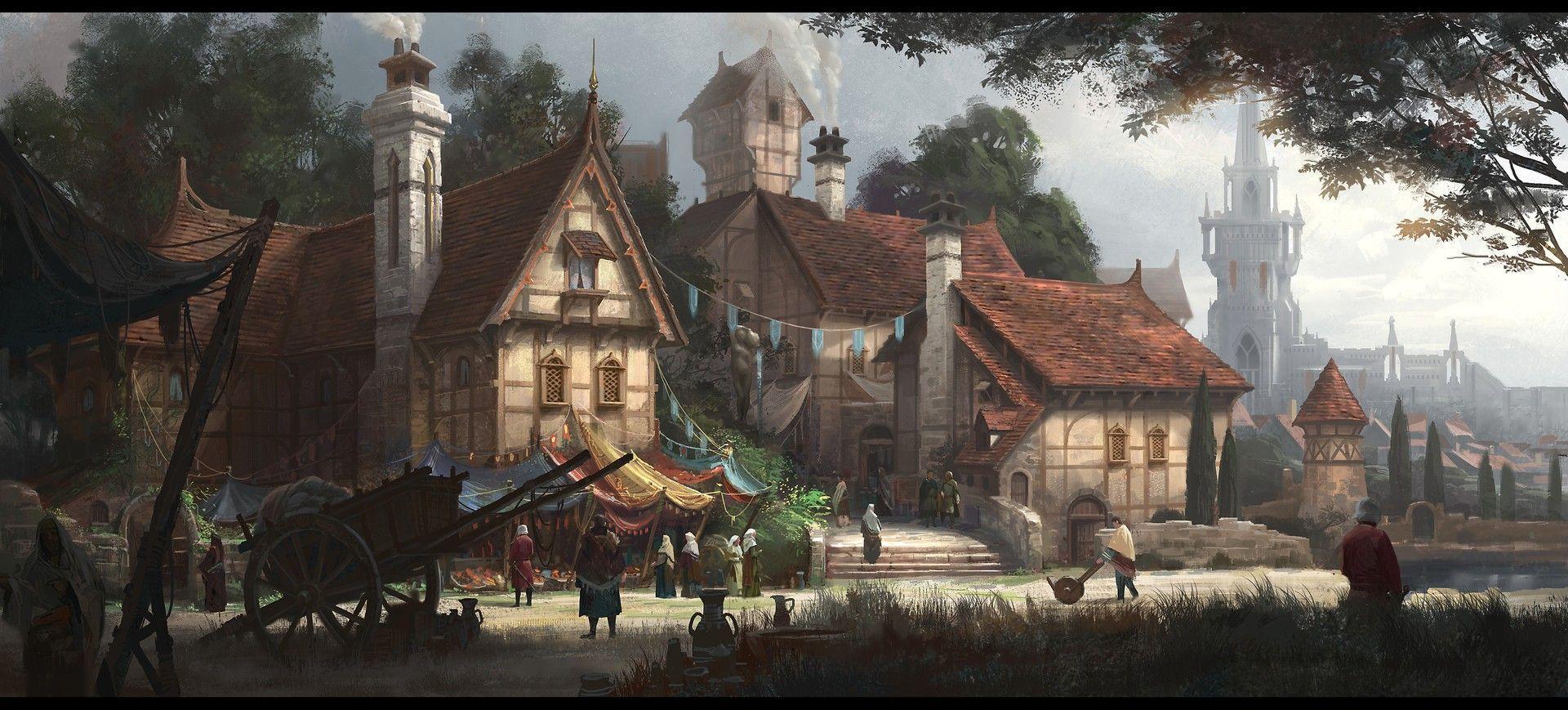 Fantasy Village Wallpapers - Top Free ...
