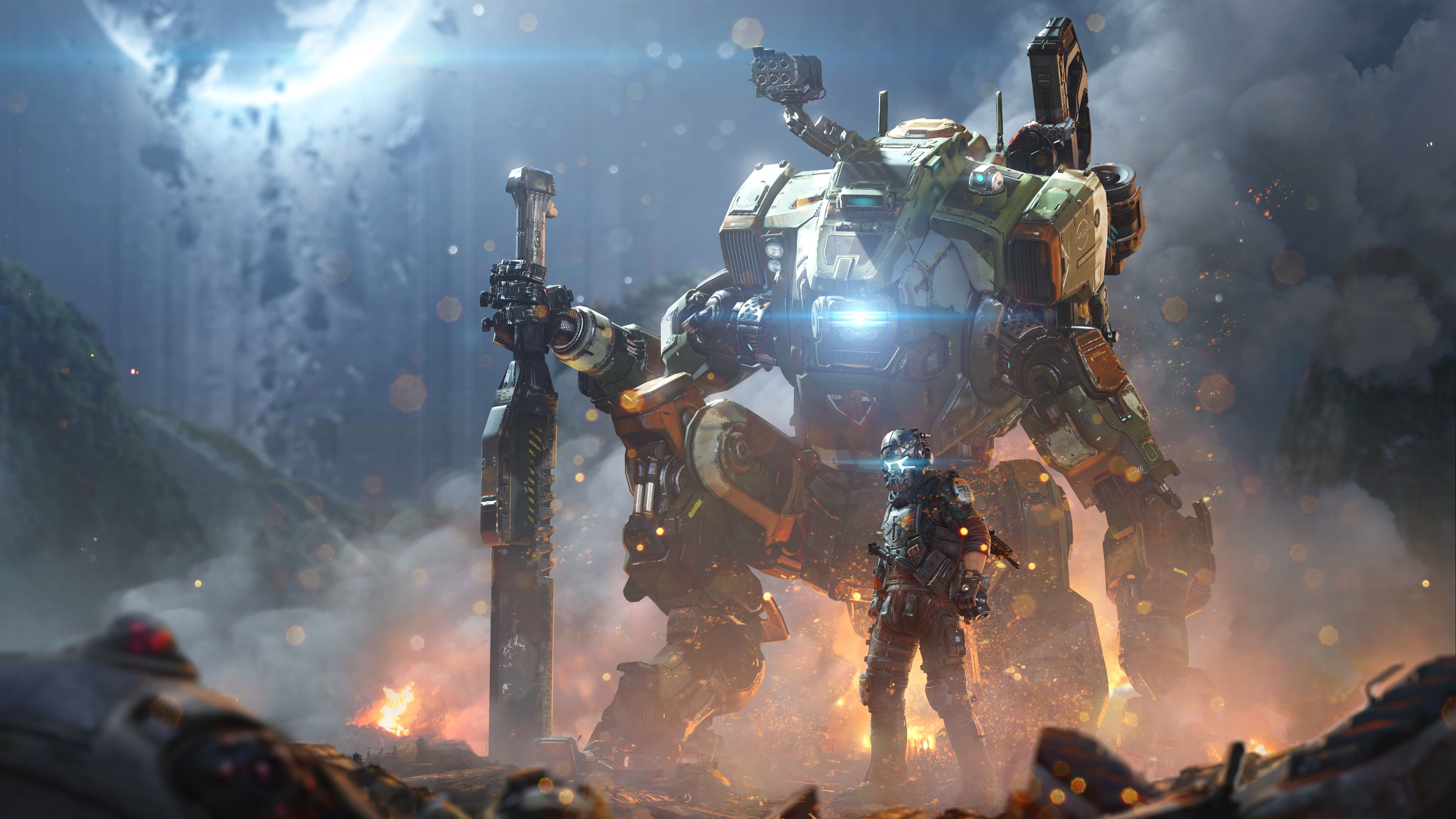 Titanfall 2 Wallpapers Top Free Titanfall 2 Backgrounds Wallpaperaccess