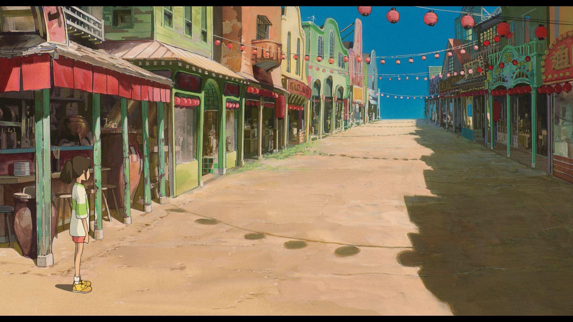 Spirited Away Desktop Wallpapers Top Free Spirited Away Desktop Backgrounds Wallpaperaccess