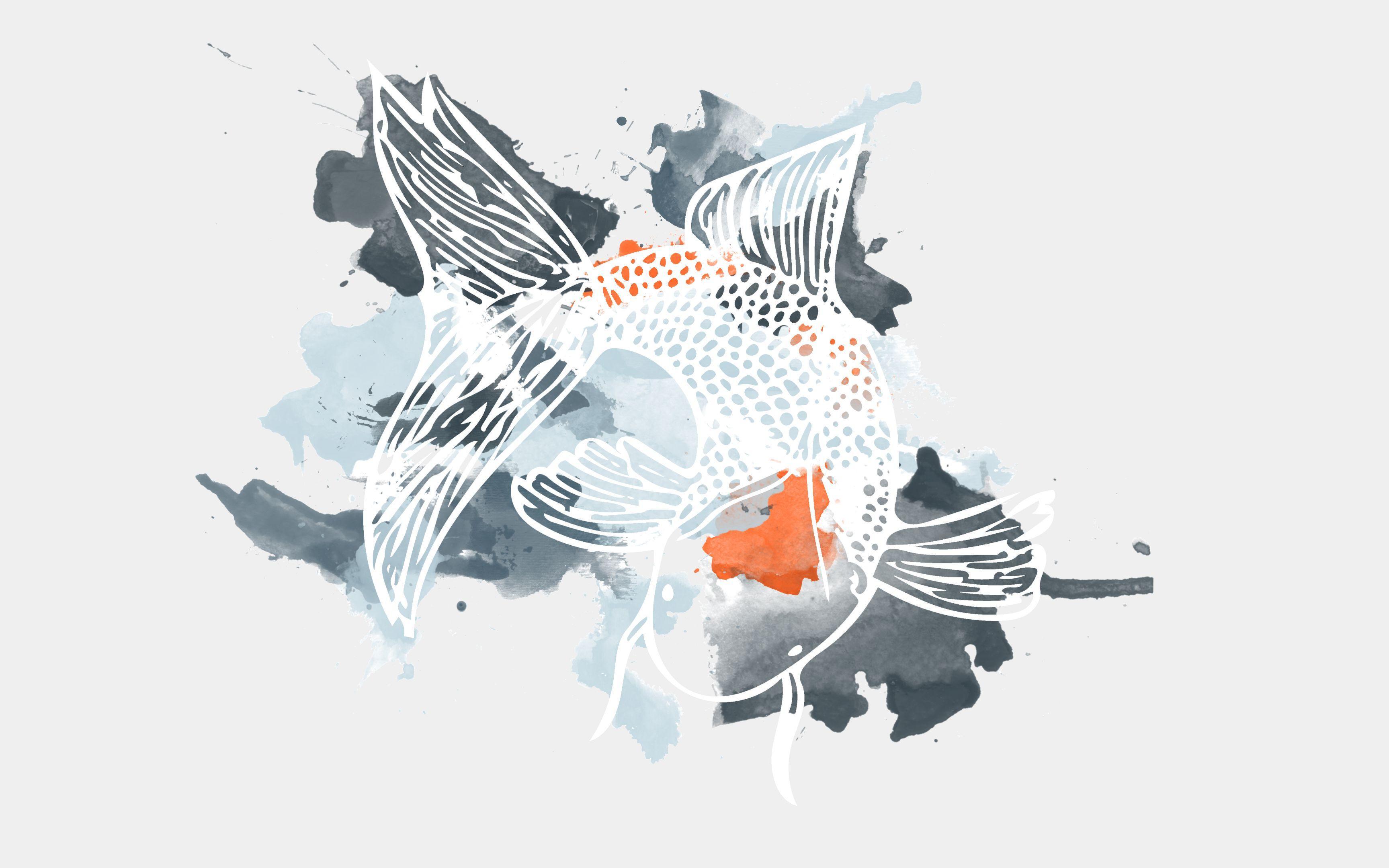 Koi Fish Art Wallpapers Top Free Koi Fish Art Backgrounds