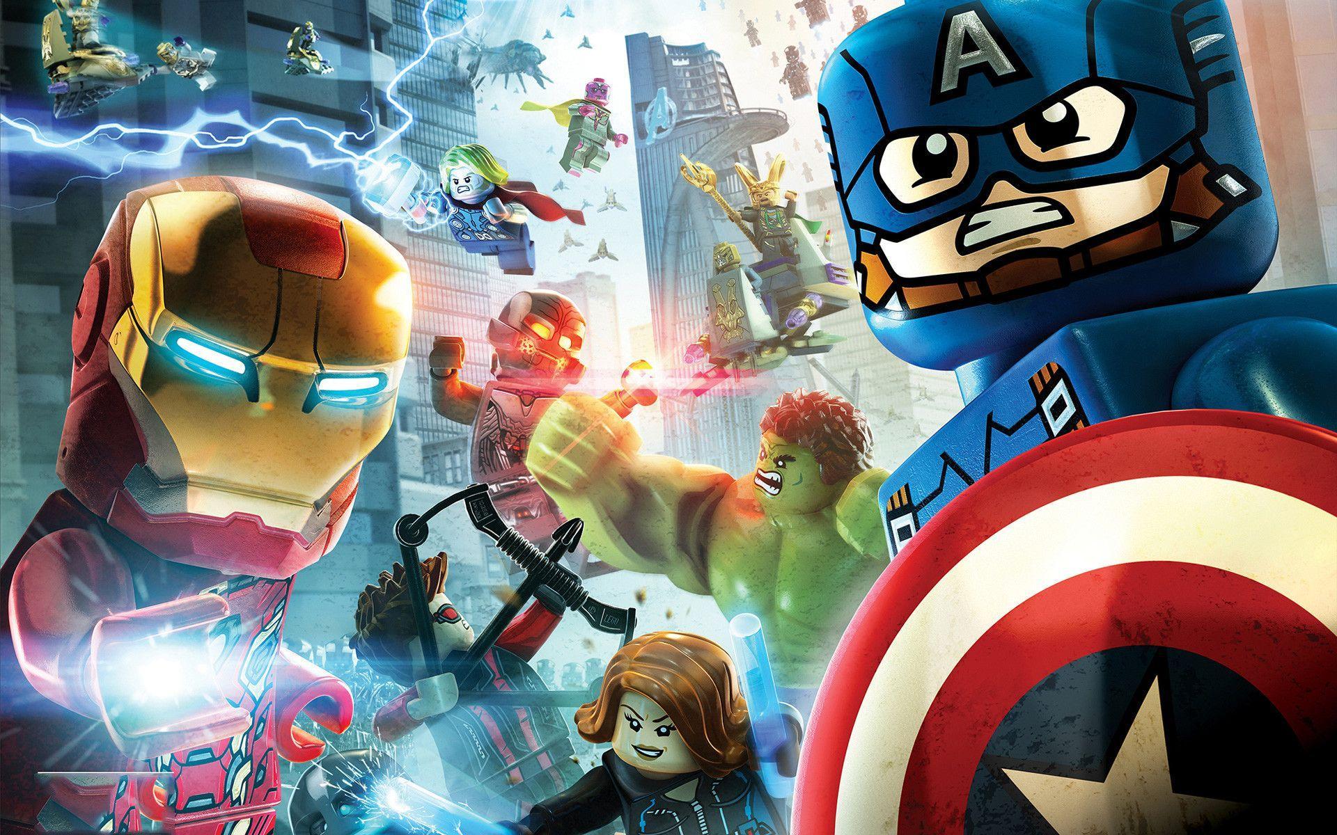 Lego Marvel Avengers Wallpapers Top Free Lego Marvel