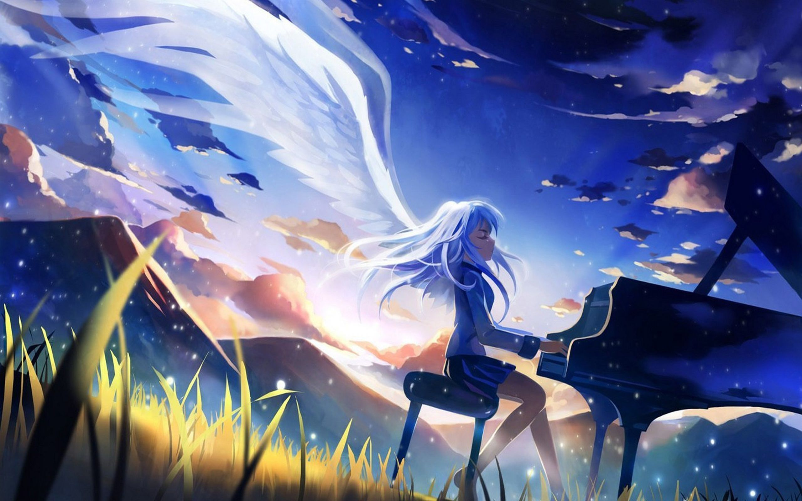 Angel Beats Wallpapers Top Free Angel Beats Backgrounds