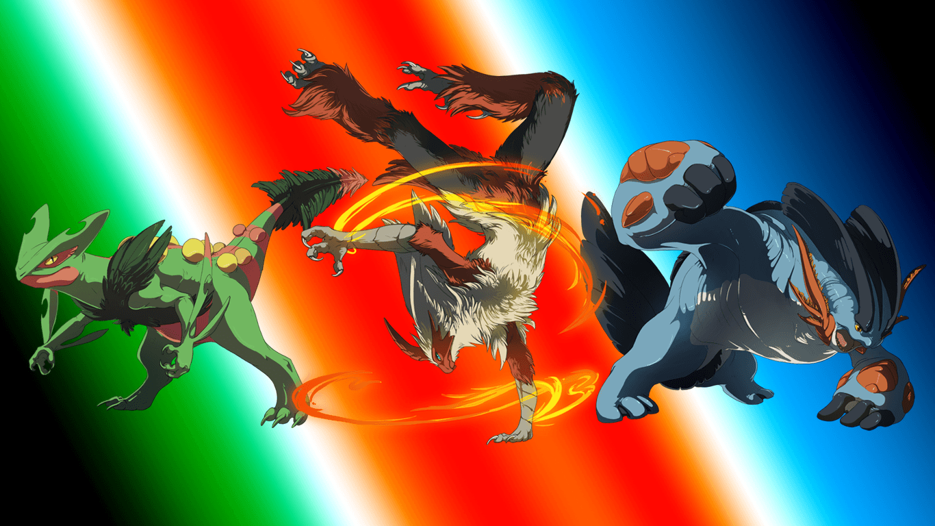 Really Cool Pokemon Backgrounds