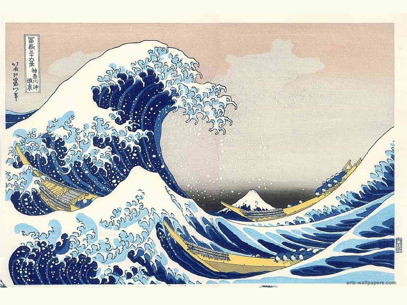 Wave Japanese Art Wallpapers Top Free Wave Japanese Art