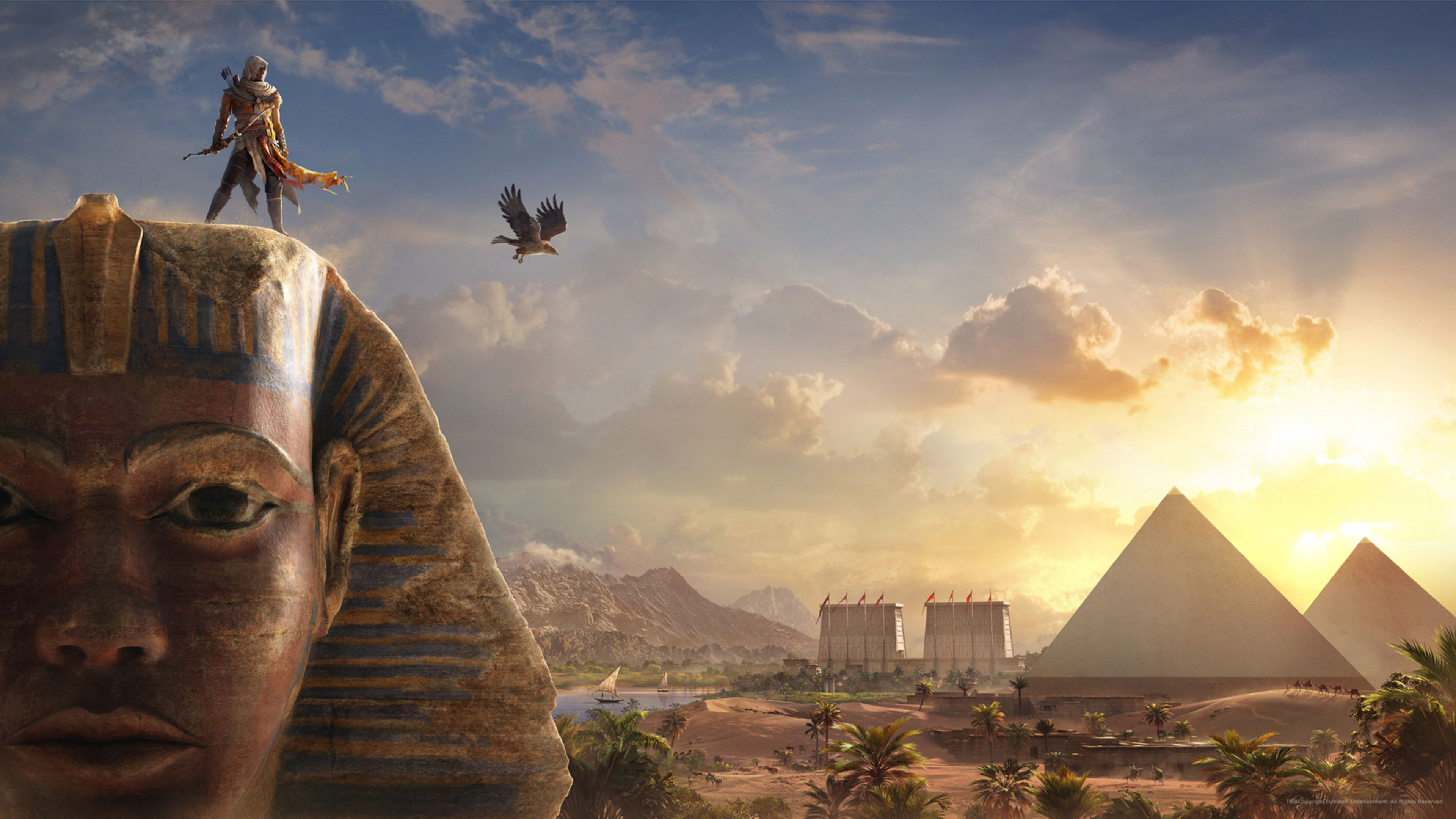 assassins creed origins aya wallpaper