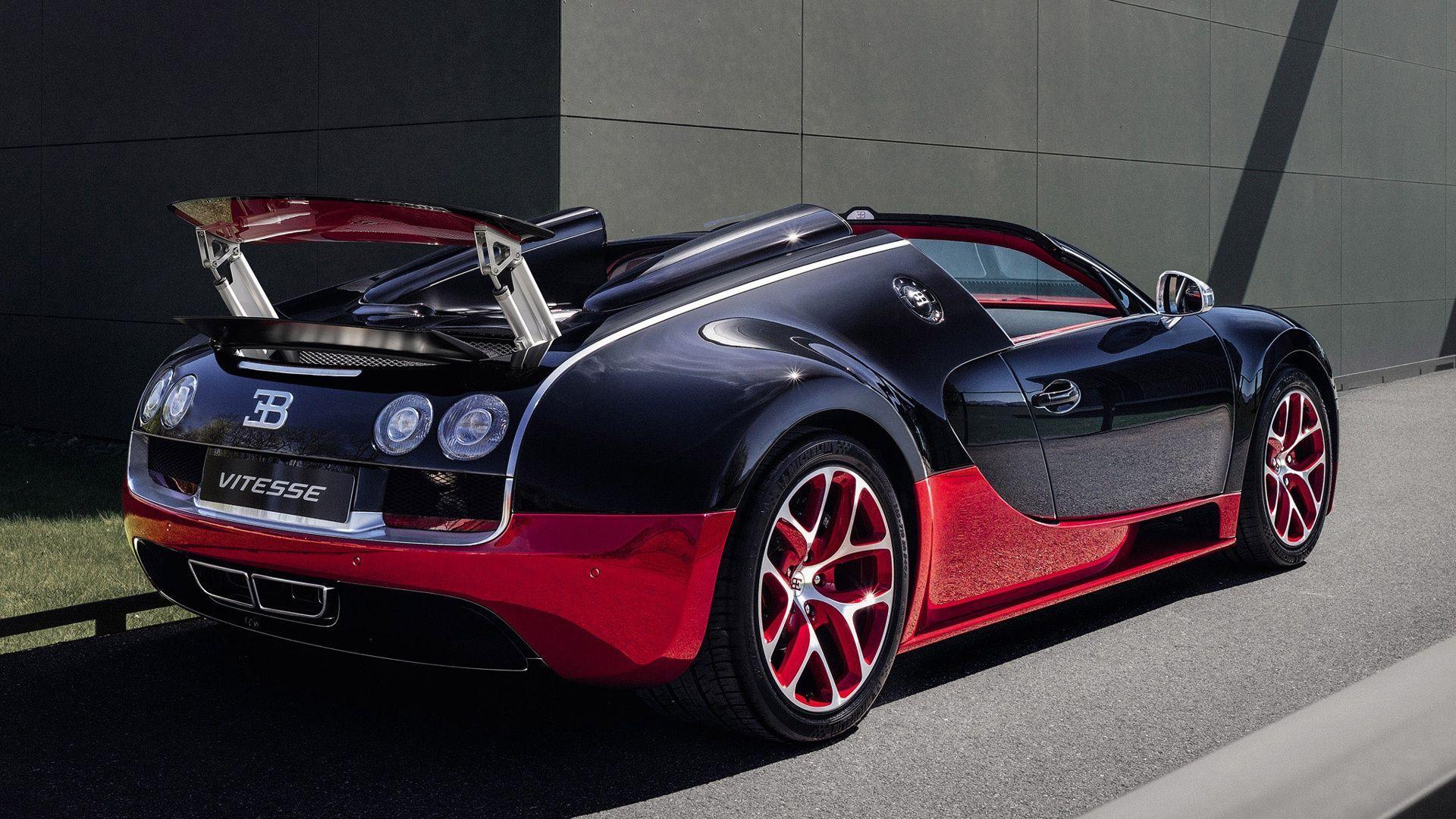 Bugatti Veyron Super Sport Gold Wallpaper: Gold Bugatti Veyron Car Wallpapers