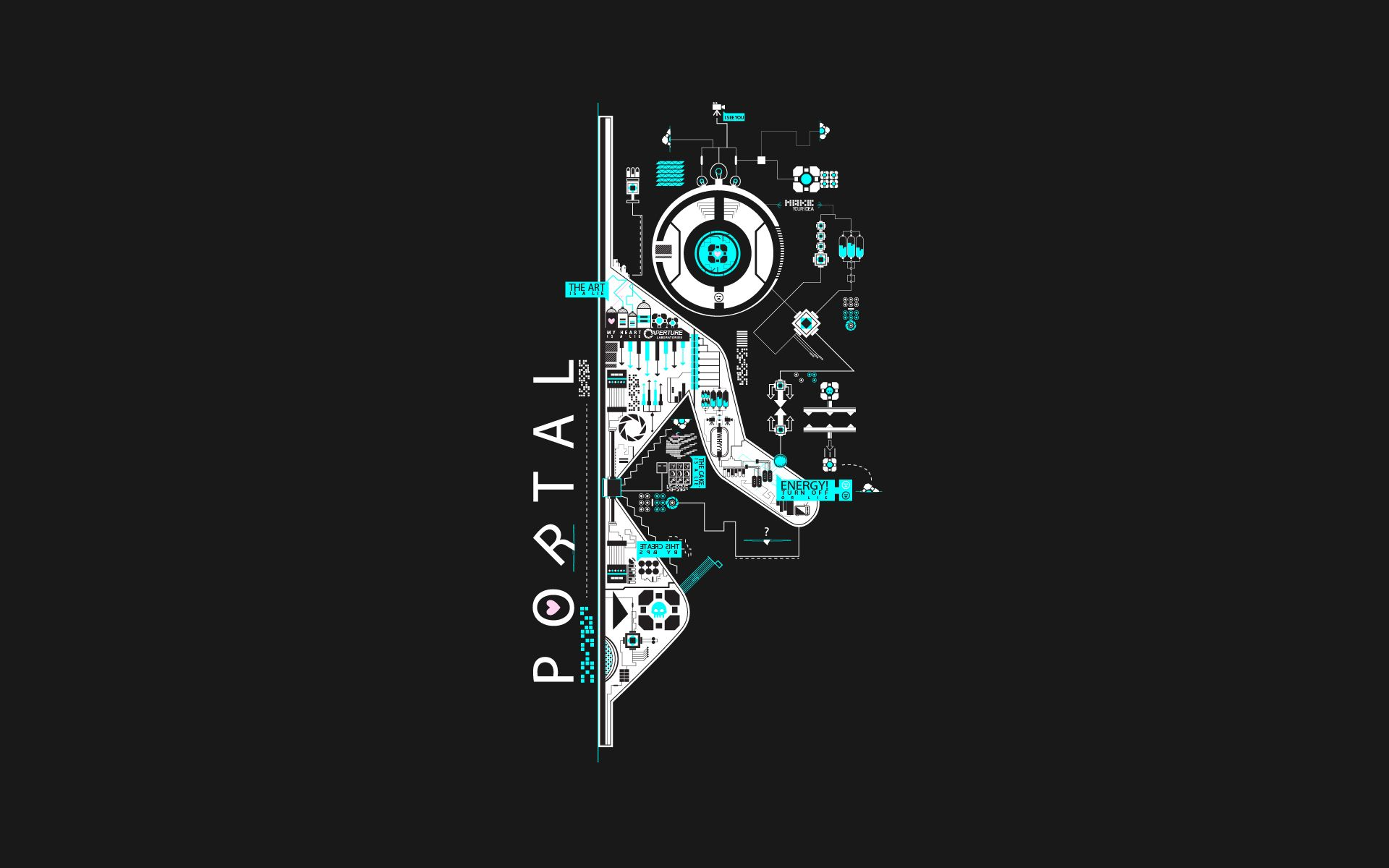 Portal 4k Wallpapers Top Free Portal 4k Backgrounds