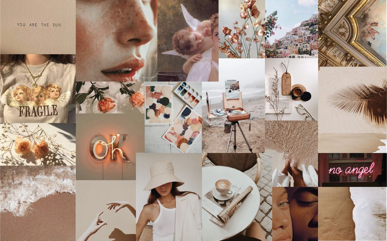 Aesthetic Laptop Collage Wallpapers Top Free Aesthetic Laptop Collage Backgrounds Wallpaperaccess