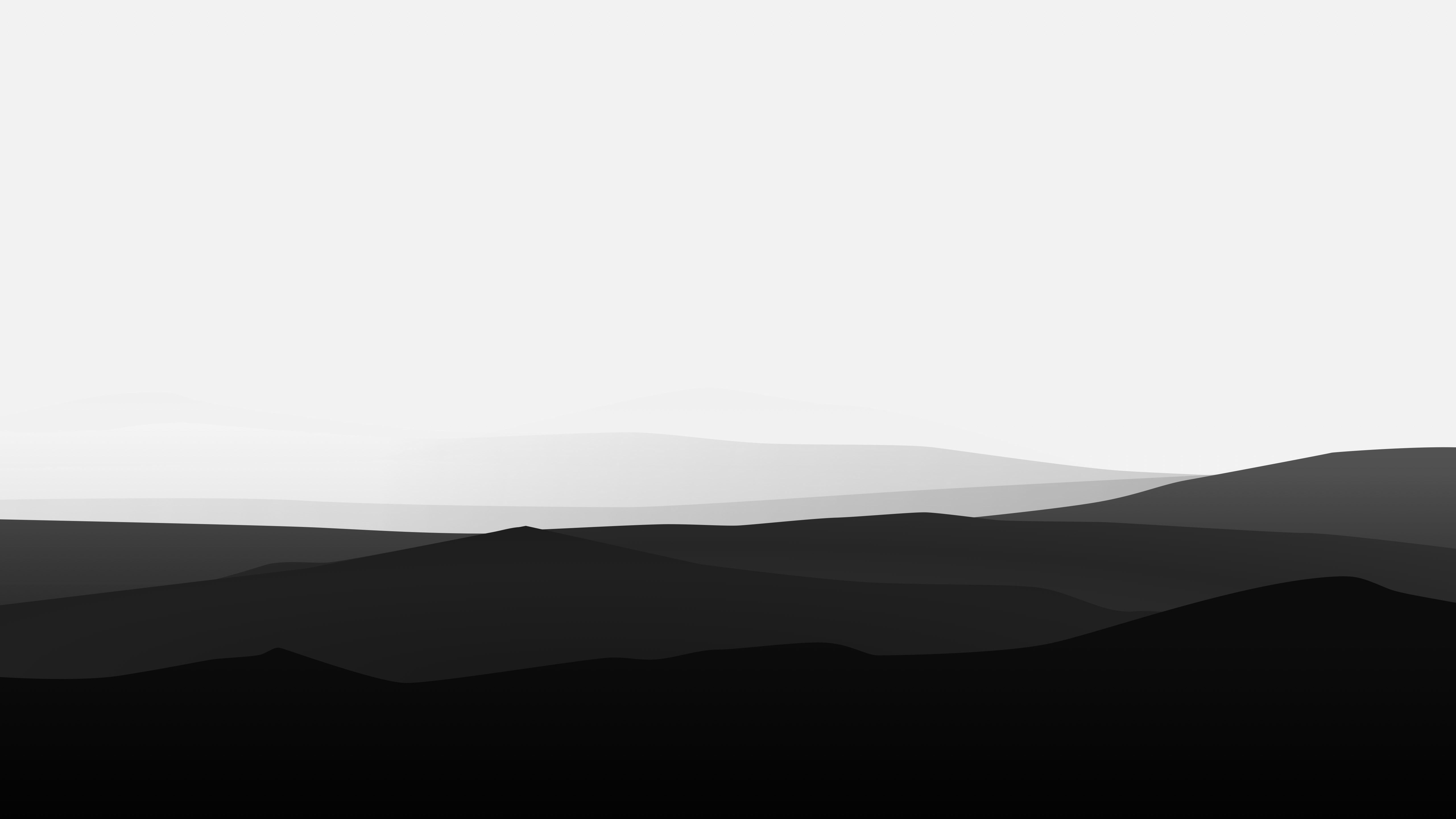 Aesthetic Minimalist Black And White Wallpaper 4k