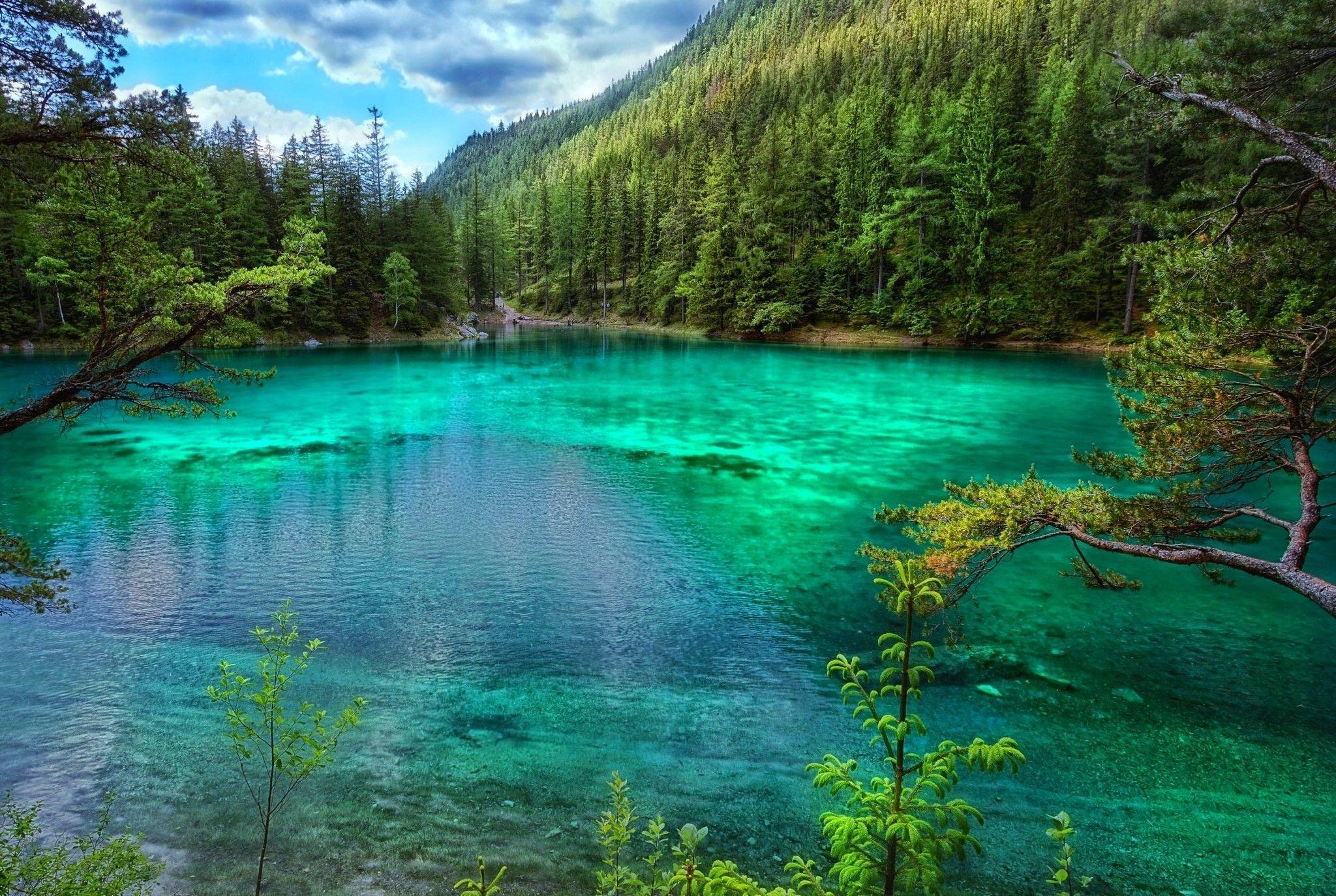 Green Lake Wallpapers - Top Free Green Lake Backgrounds - WallpaperAccess