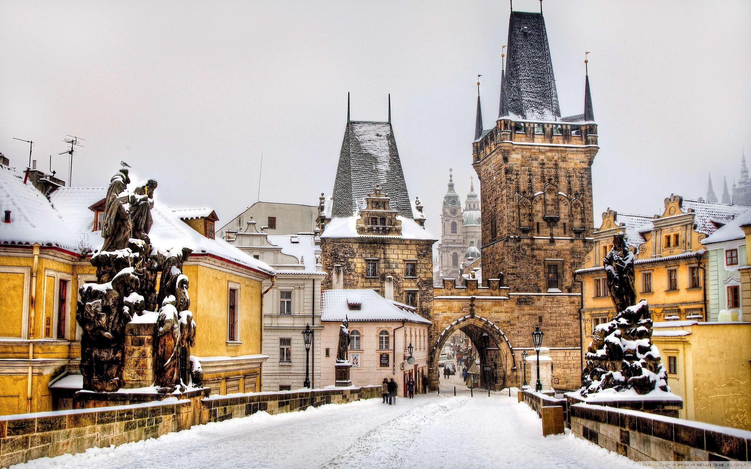 Prague in Winter Wallpapers - Top Free Prague in Winter Backgrounds - WallpaperAccess
