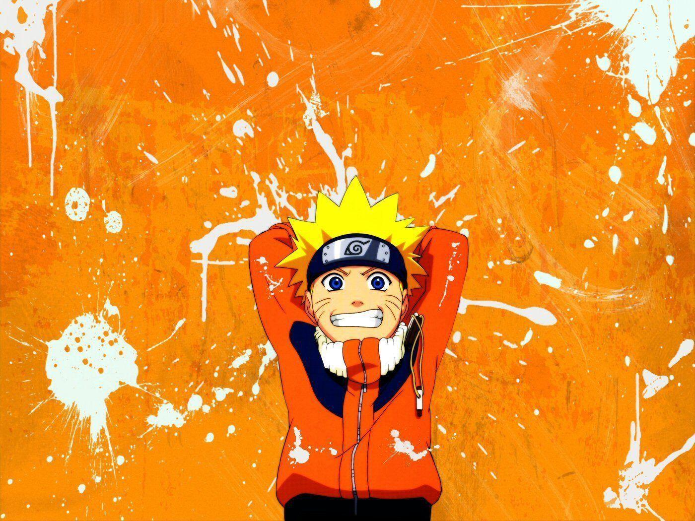 Orange Naruto Wallpapers Top Free Orange Naruto Backgrounds Wallpaperaccess