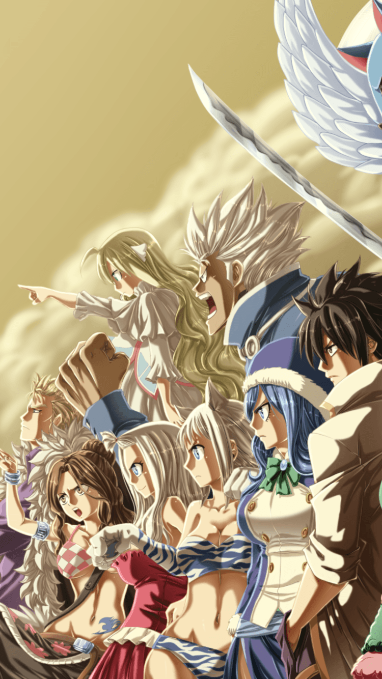 30 Best Free Fairy Tail Phone Wallpapers
