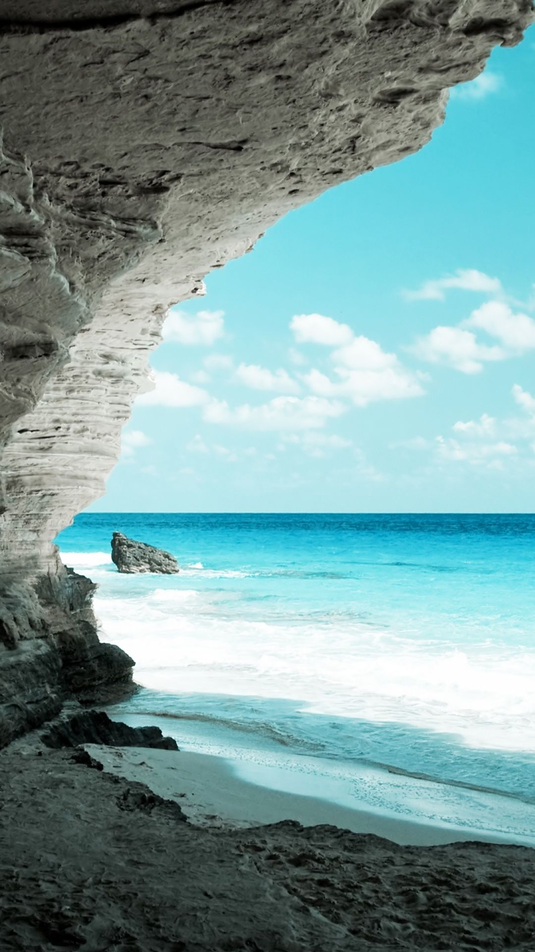 beach wallpaper phone