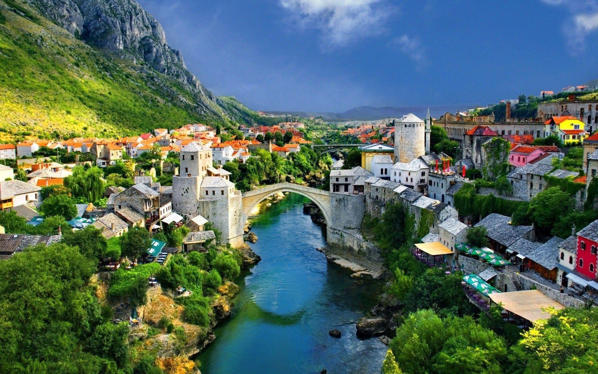 Mostar Bridge Wallpapers - Top Free Mostar Bridge ...
