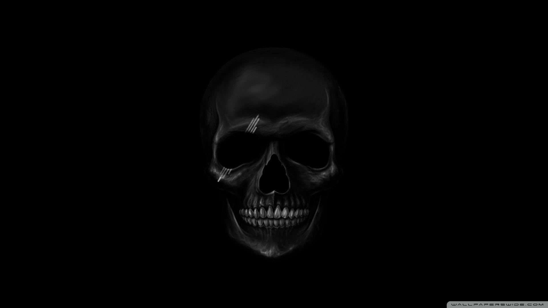 Dark Skull Wallpapers Top Free Dark Skull Backgrounds Wallpaperaccess
