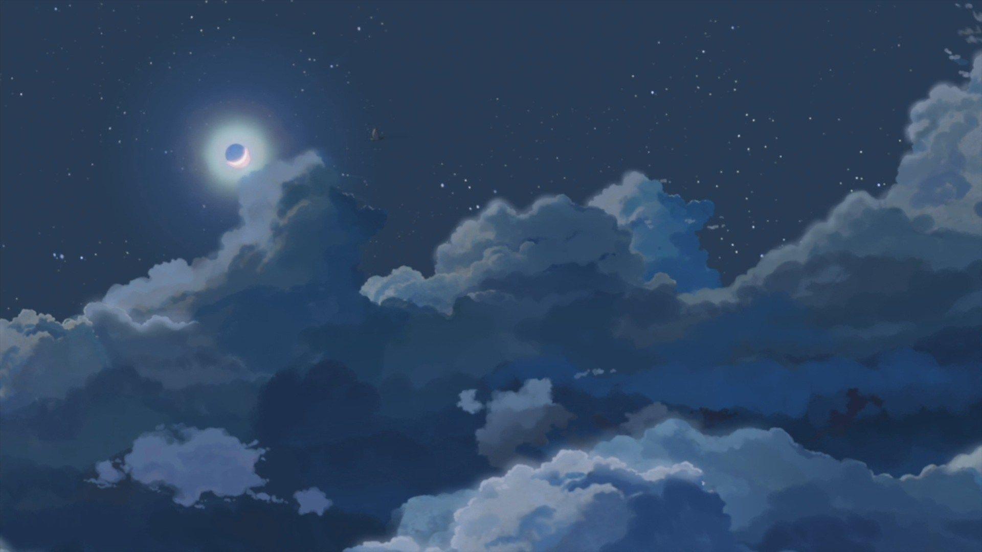 1920x1080 Aesthetic Background Anime