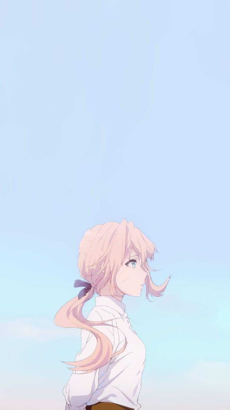 750x1334 Aesthetic Anime hình nền
