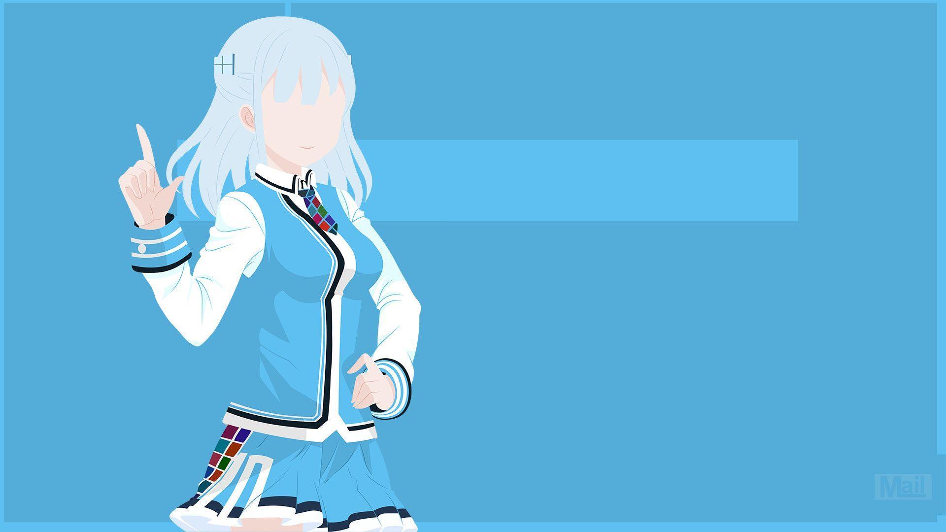 1920x1080 Xu hướng cho thẩm mỹ Hình nền mát mẻ Pastel Anime Kawaii