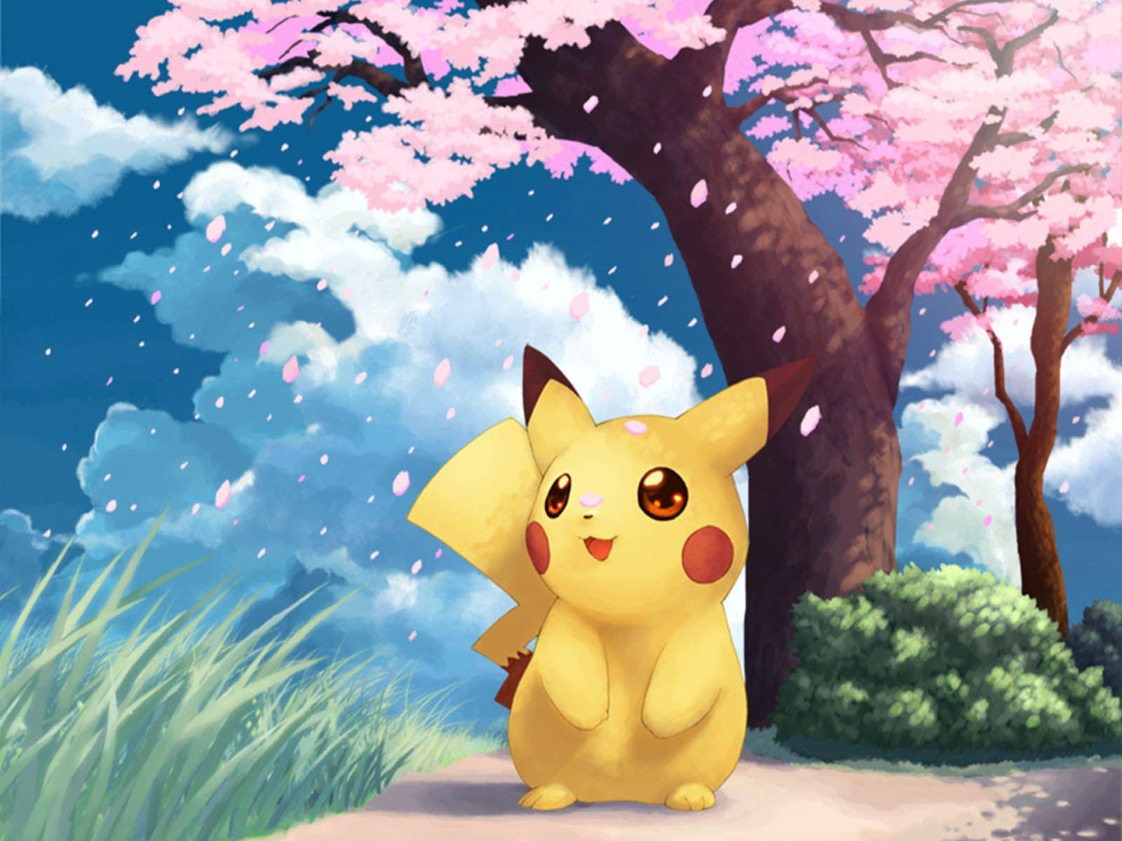 1600x1200 Bộ sưu tập hàng ngàn Hình nền Pikachu dễ thương miễn phí từ khắp nơi